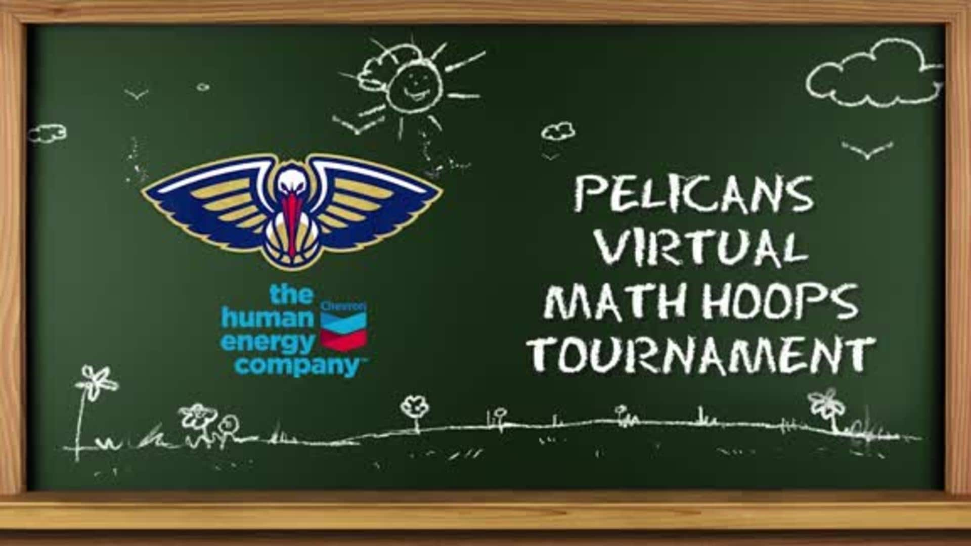 Pelicans Math Hoops virtual tournament recap