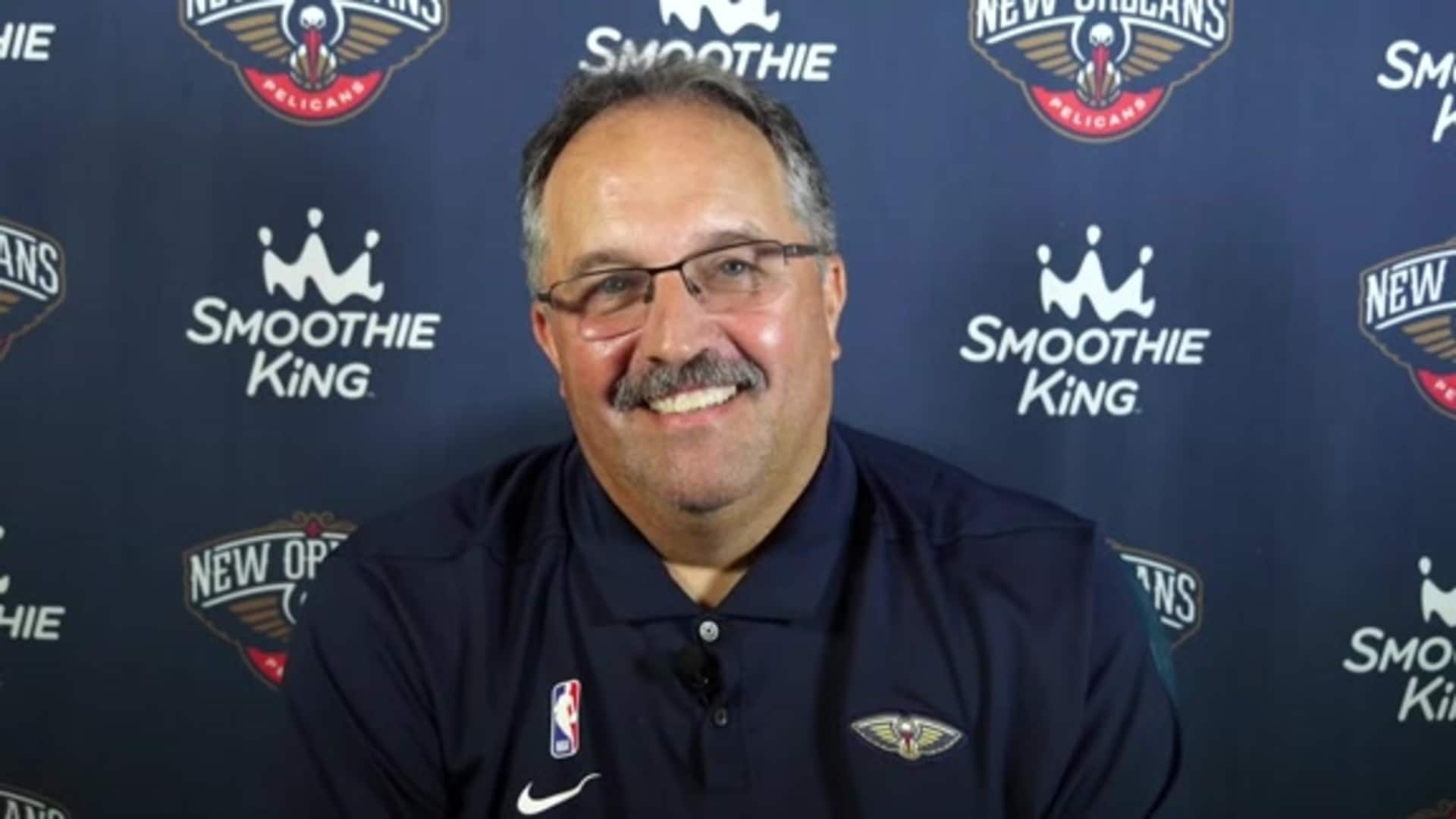 Pelicans Head Coach Stan Van Gundy Introductory Press Conference