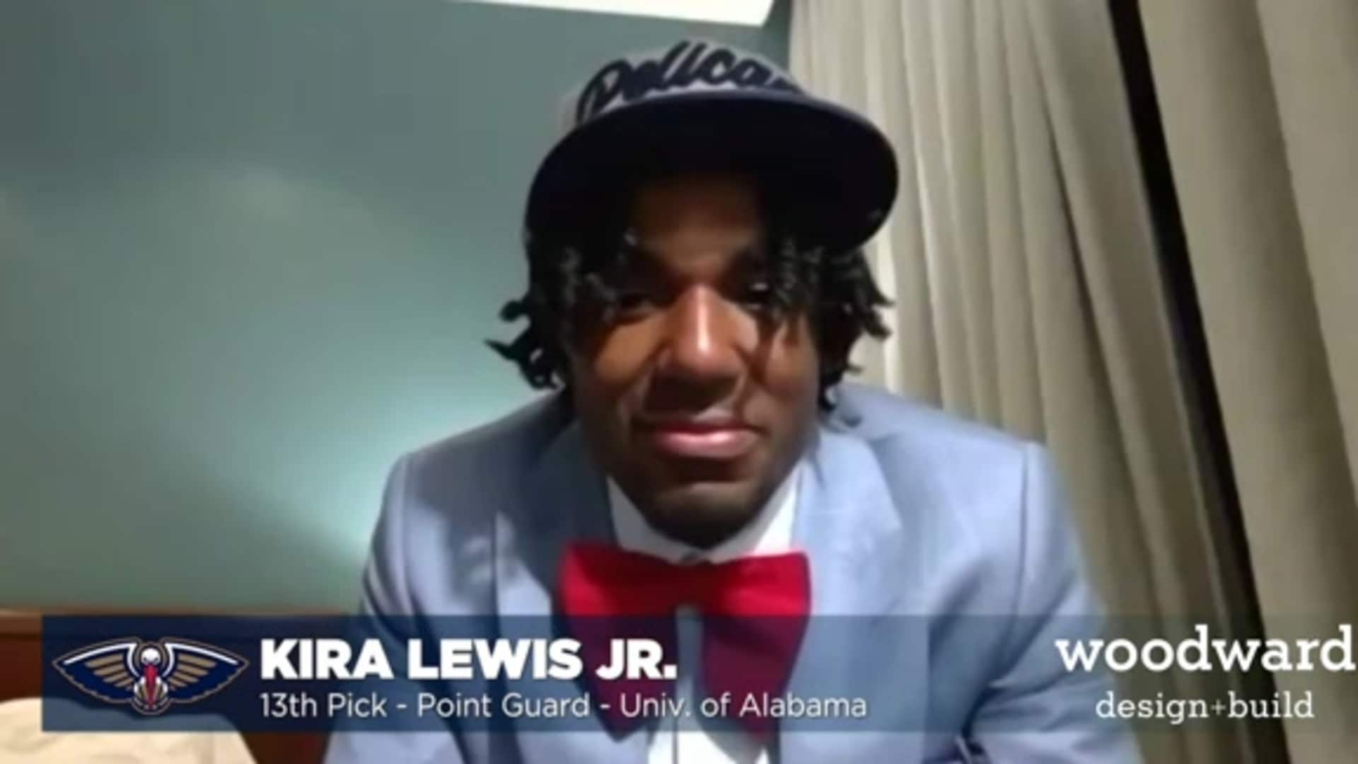 Pelicans Draft Interviews: Kira Lewis Jr.'s first interview as a Pelican