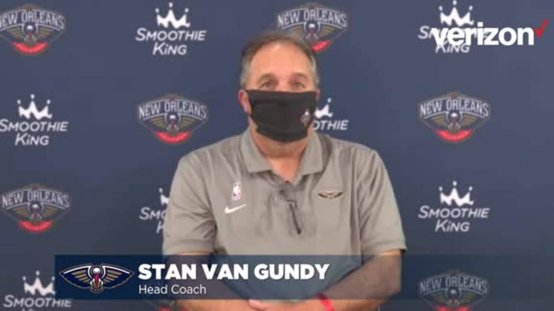 Stan Van Gundy talks Pelicans' upcoming season ahead of player workouts