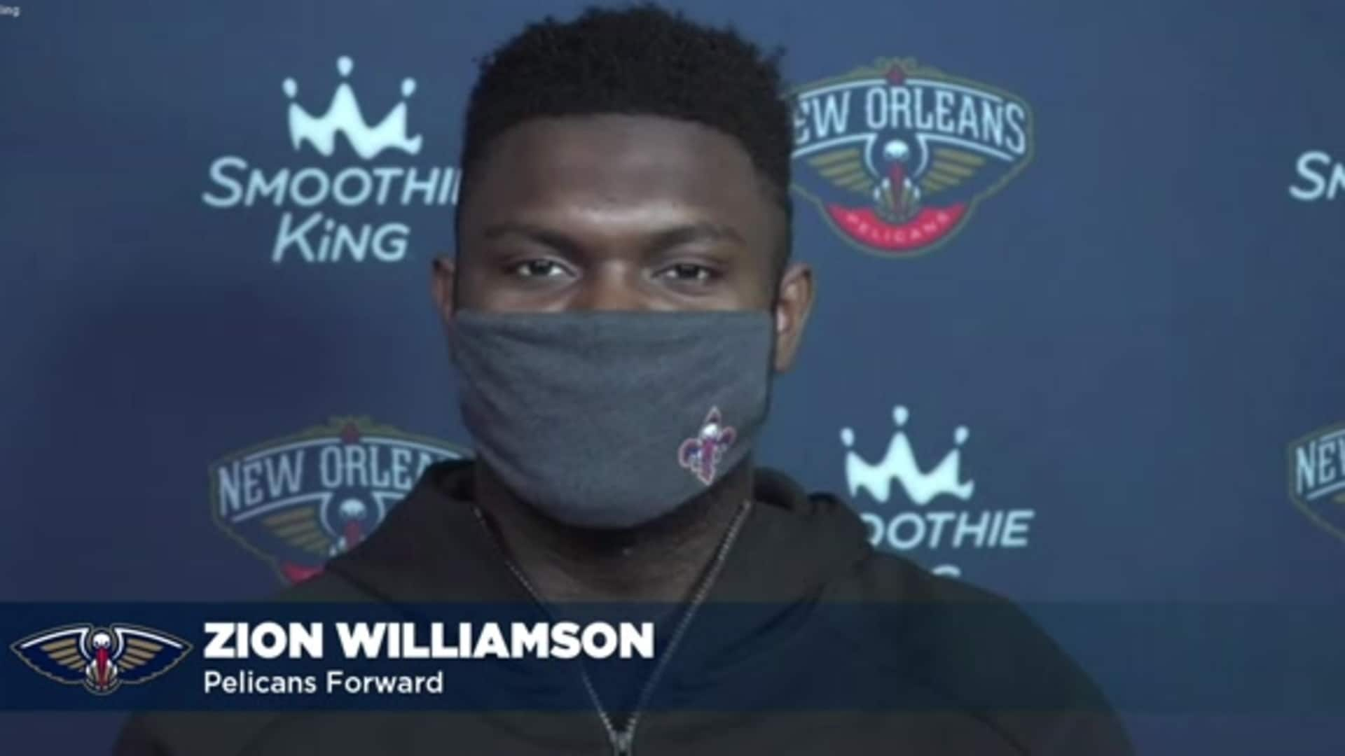 Zion Williamson talks 2020-21 NBA season, ready for year two