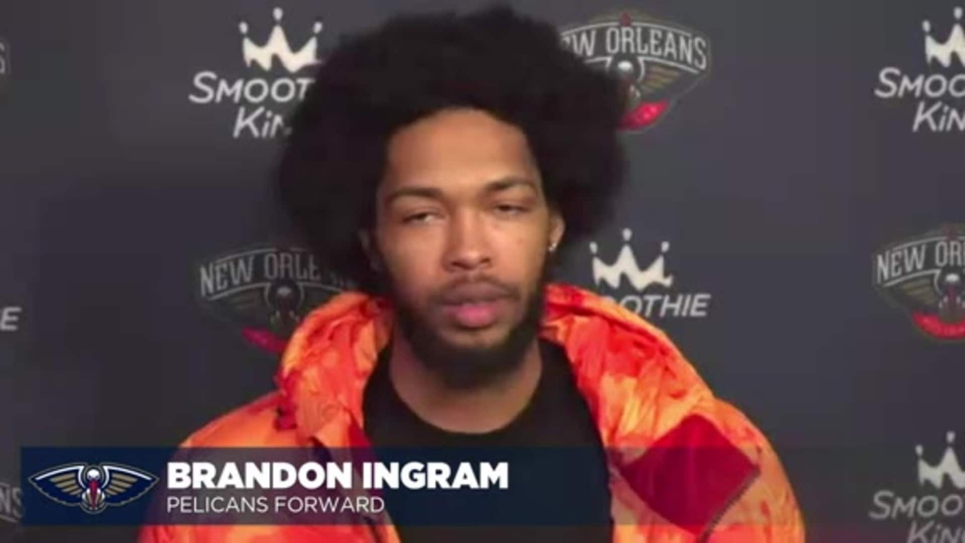Brandon Ingram talks preparation ahead of the 2020-21 NBA season