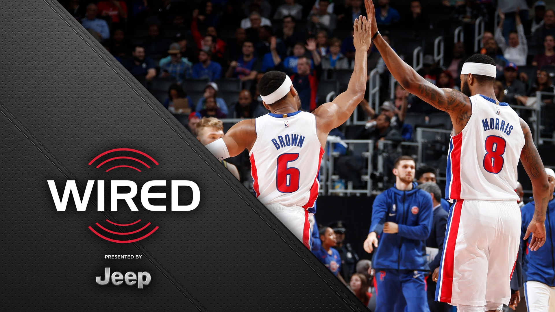 Wired, presented by Jeep: Pistons vs Pacers