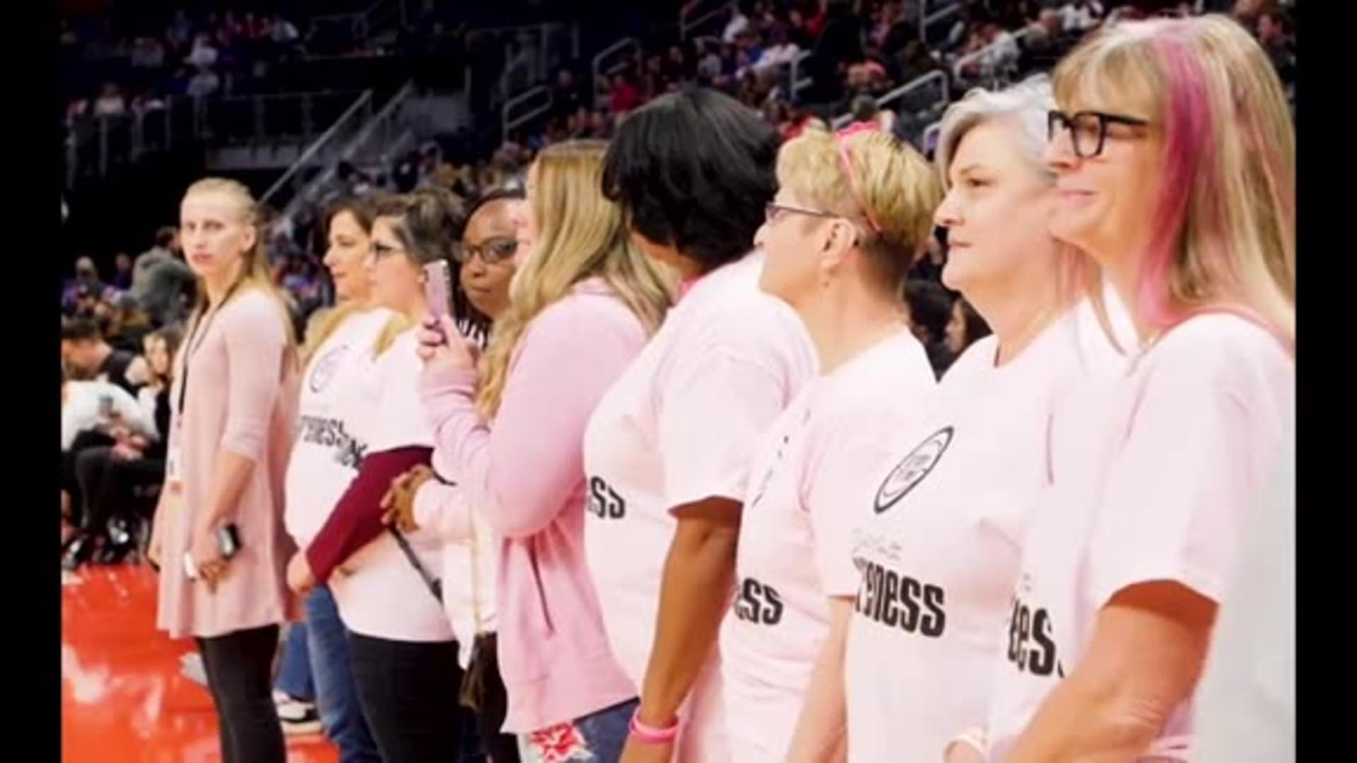 Pistons in the Community: Breast Health Awareness Month