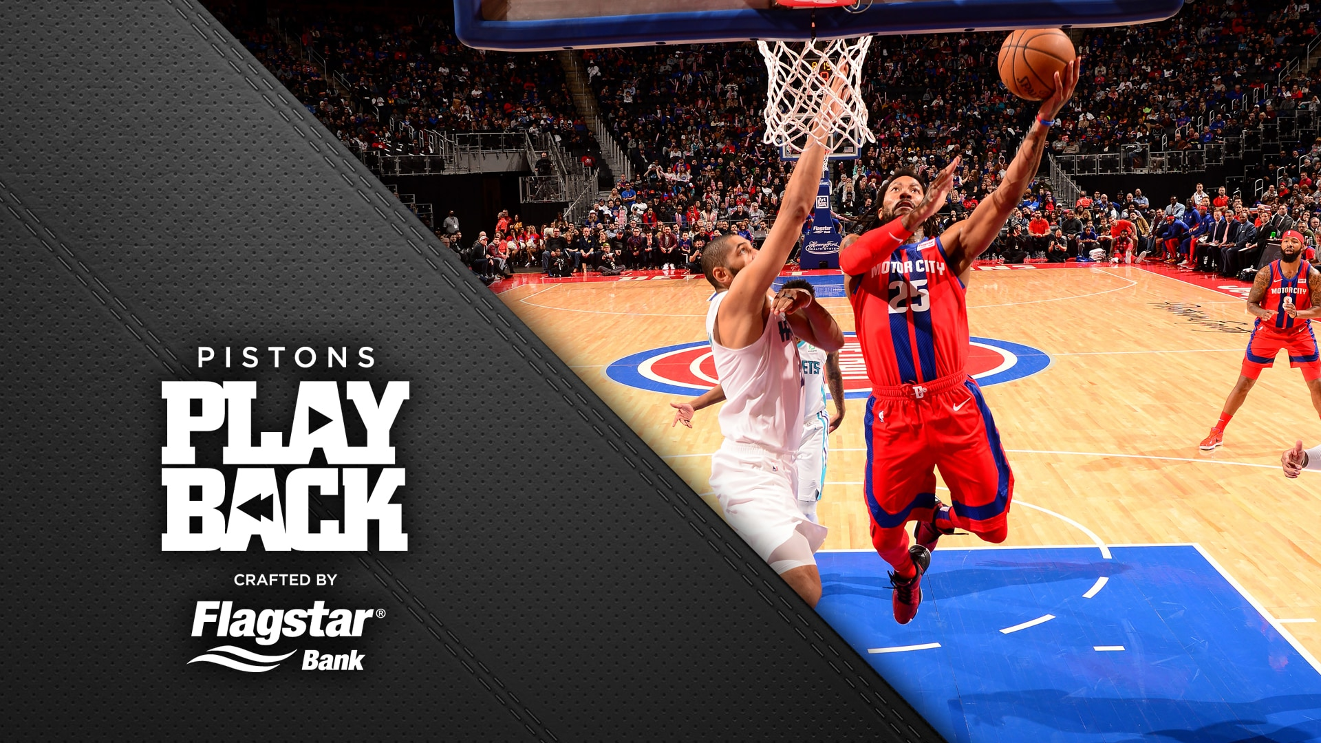Pistons Playback, crafted by Flagstar: Pistons vs Hornets
