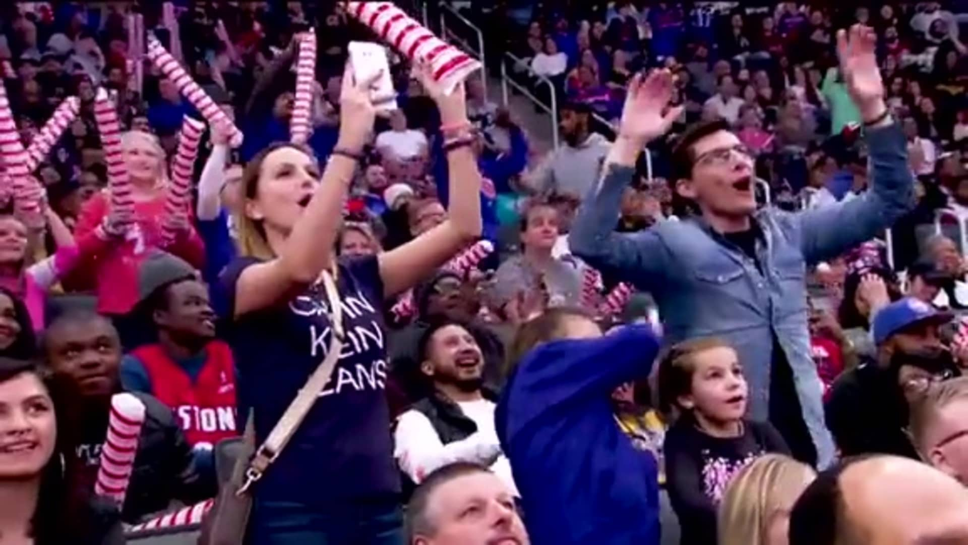 Dance Cam, presented by State Farm: November 29, 2019
