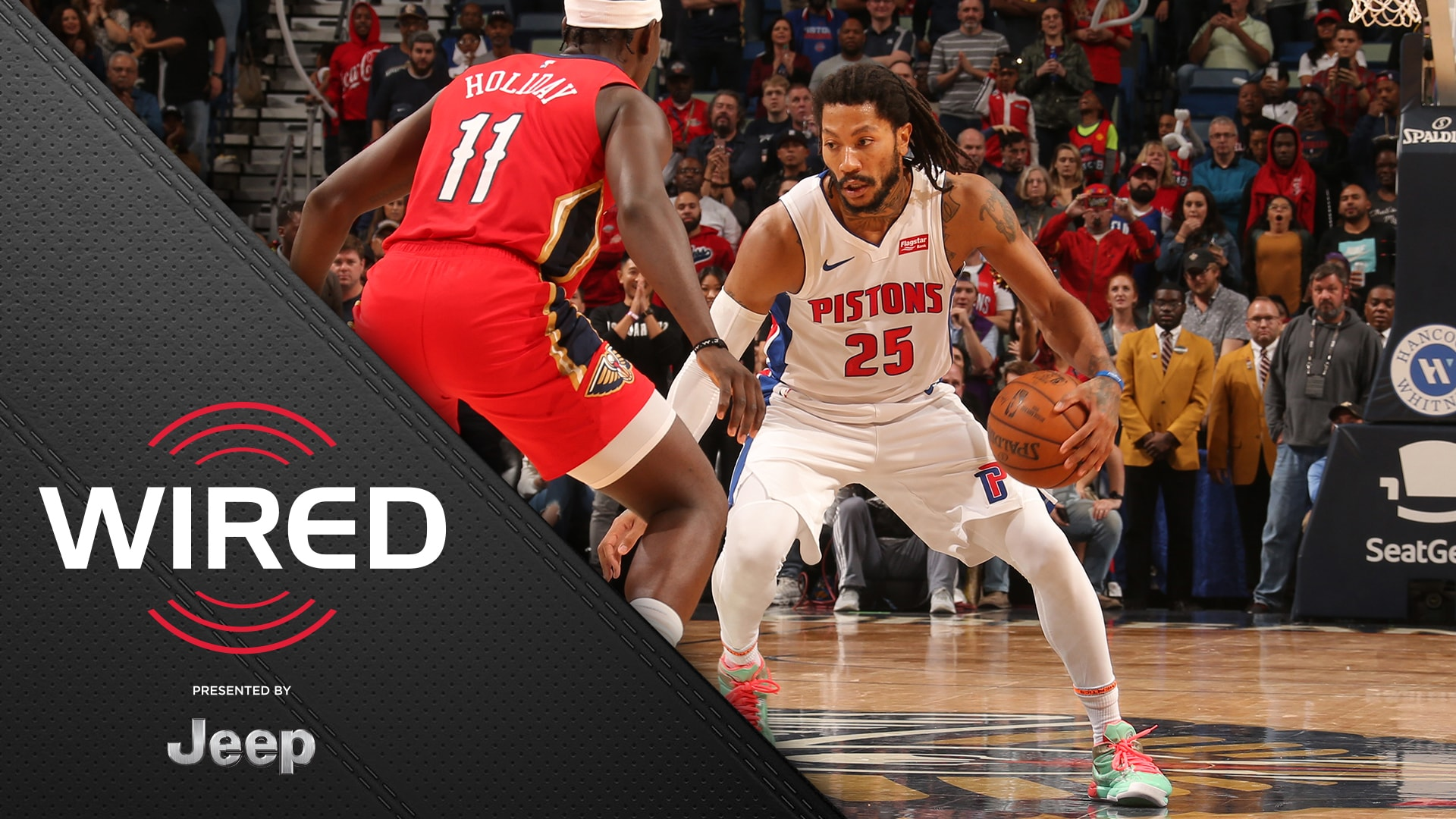 Wired, presented by Jeep: Pistons vs Pelicans