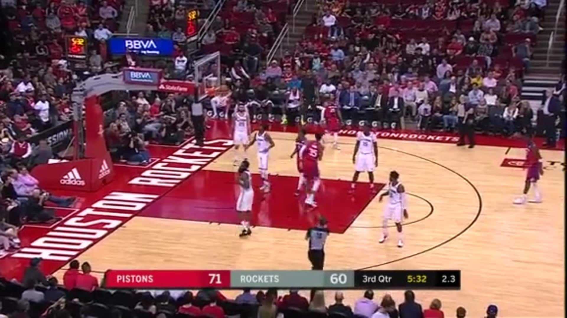 Pistons Playback, crafted by Flagstar: Pistons at Rockets