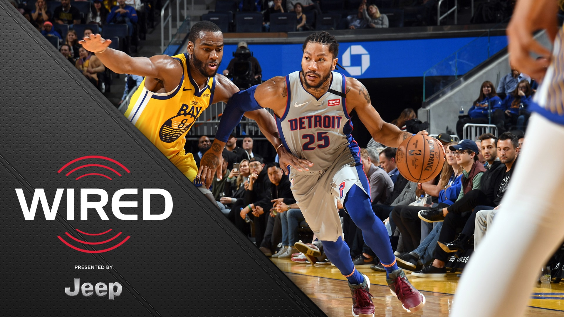 Wired, presented by Jeep: Pistons vs Golden State Warriors