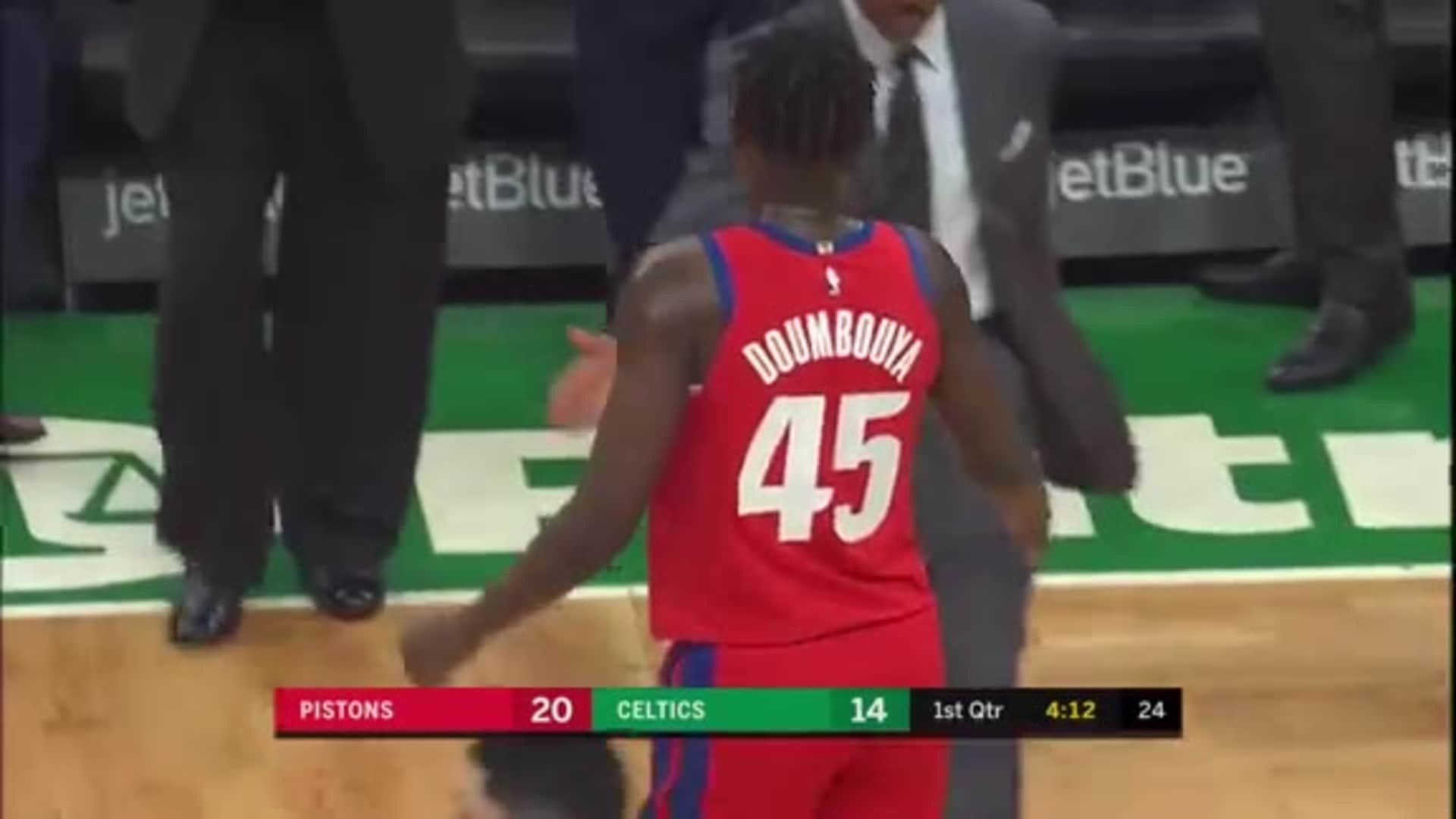 Pistons Playback, crafted by Flagstar: Pistons at Celtics