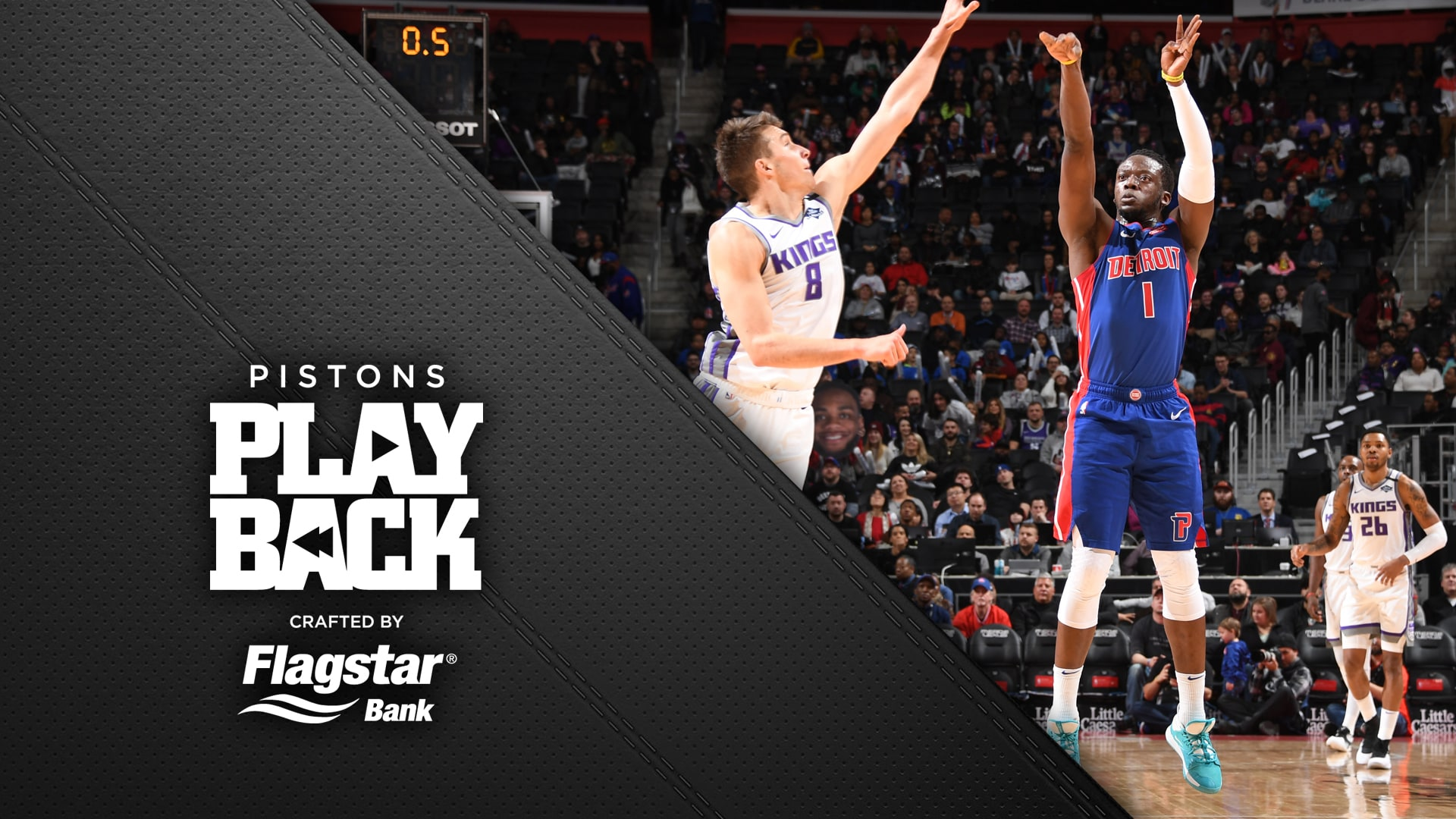 Pistons Playback, crafted by Flagstar: Pistons vs Kings