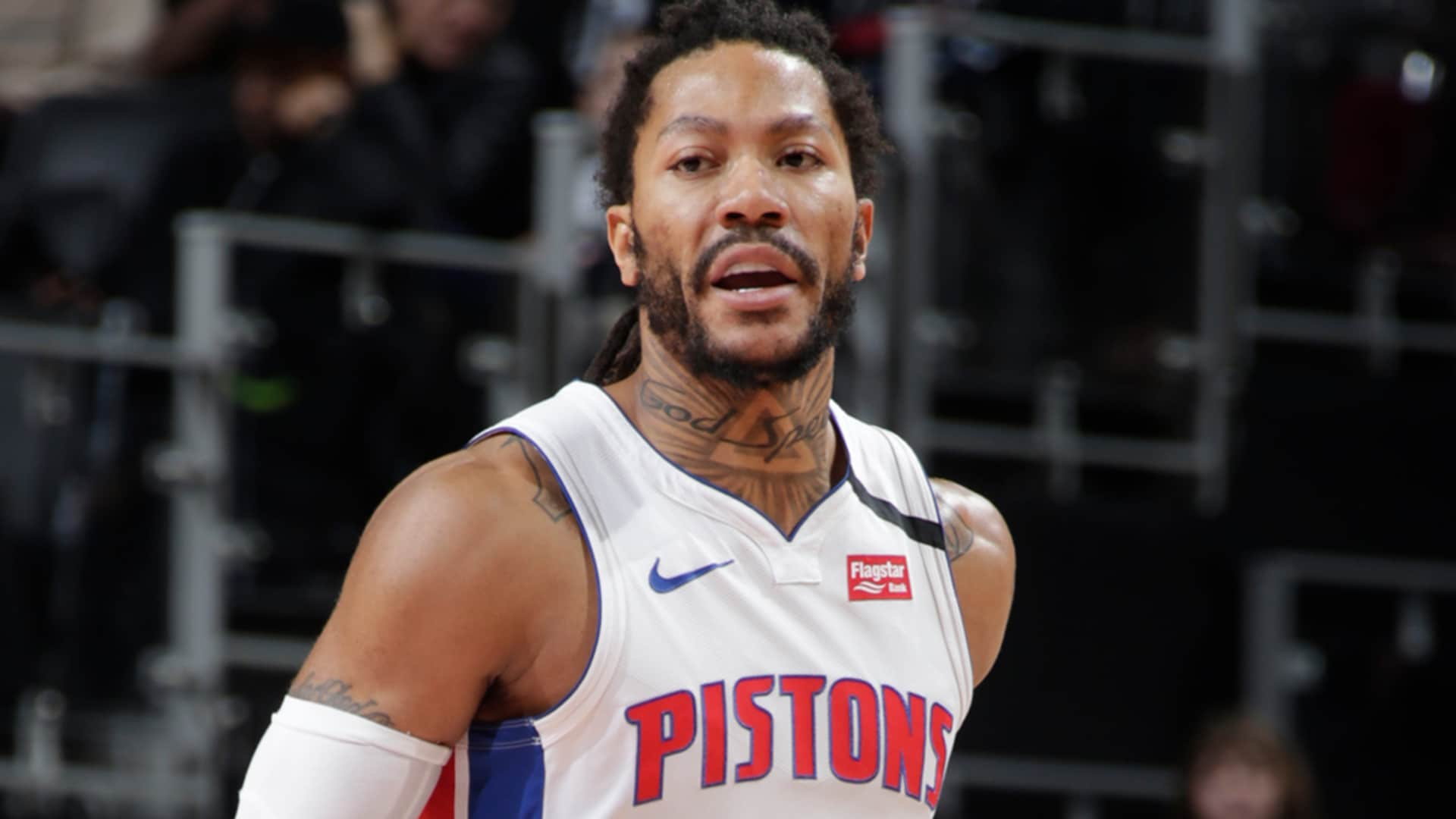 Derrick Rose Scores 22 | Pistons Playback, crafted by Flagstar: Pistons vs Grizzlies