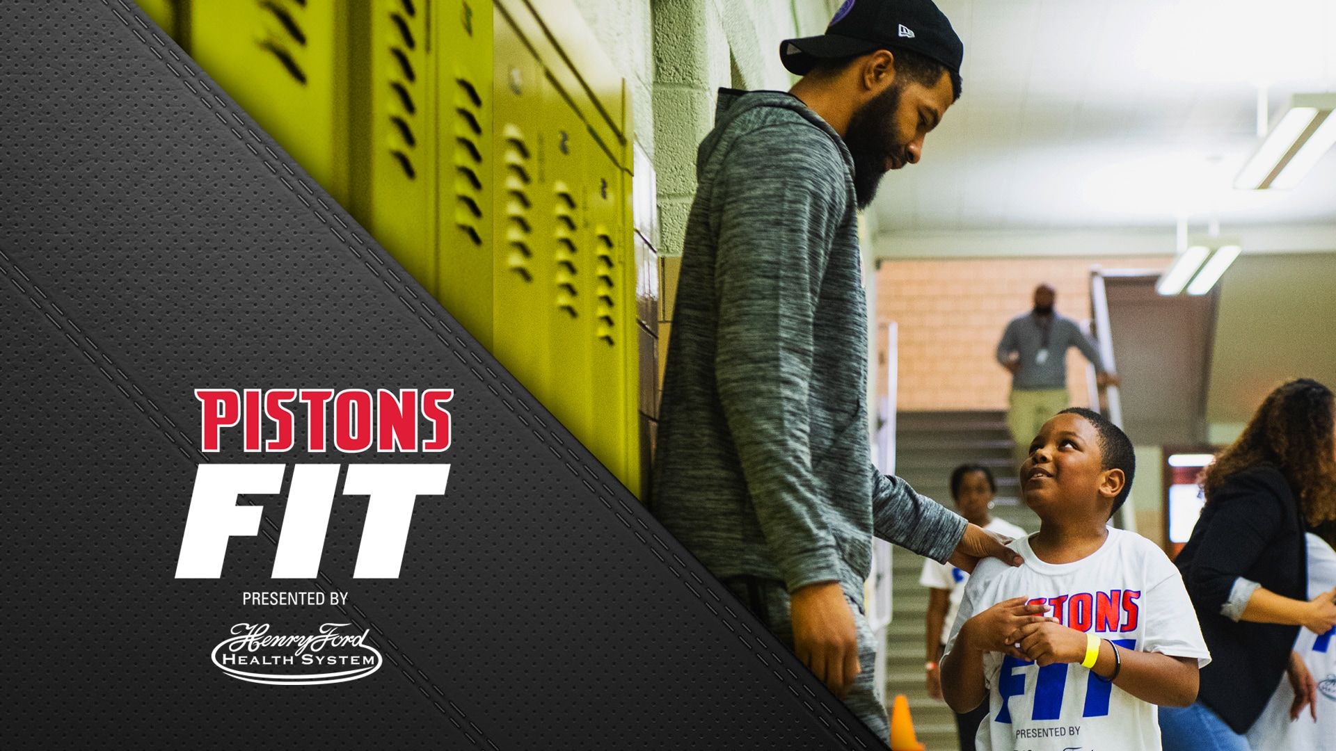 Pistons Fit, presented by Henry Ford Health System: UNICEF Kid Power Clinic