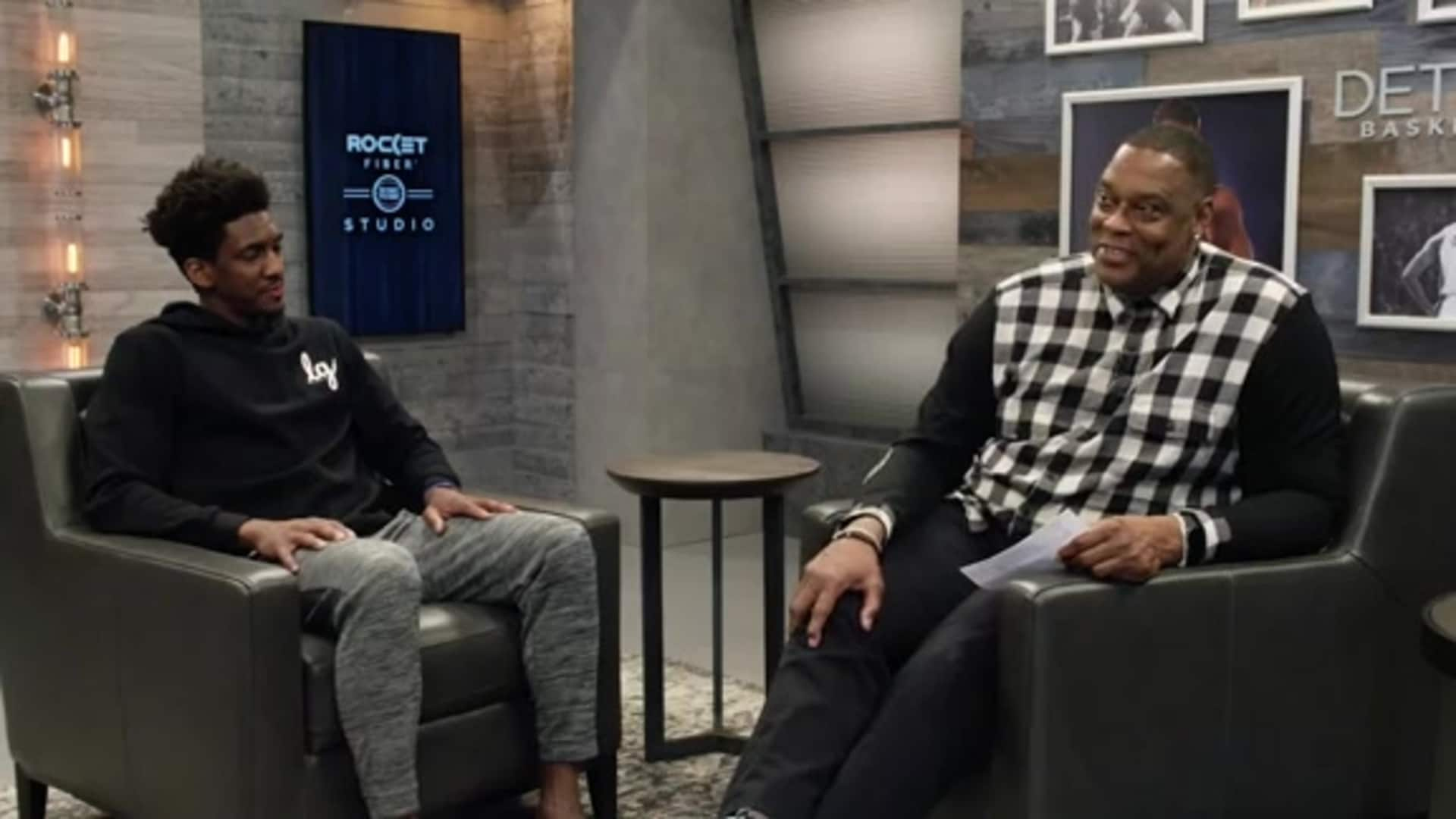 Players Lounge, presented by Art Van: Langston Galloway