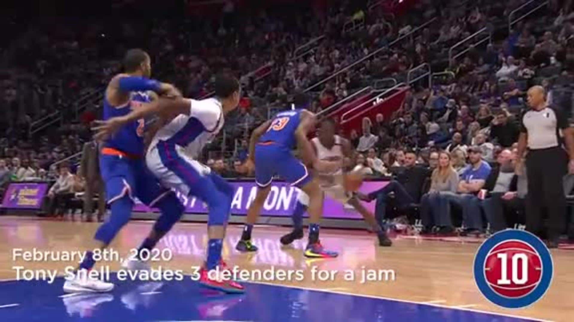 Pistons Hits: Top 10 Plays