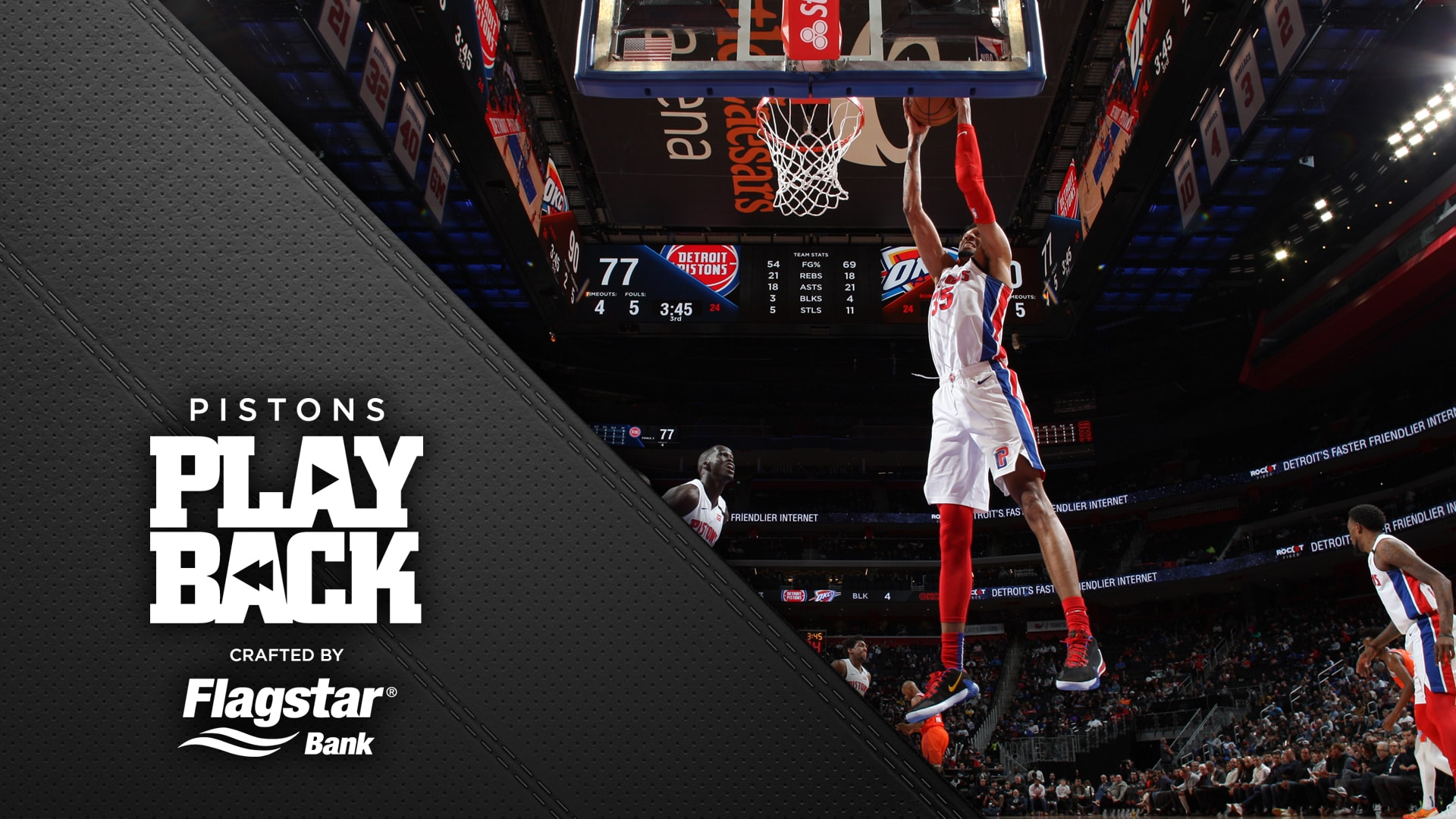 Pistons Playback, crafted by Flagstar: Pistons vs Thunder