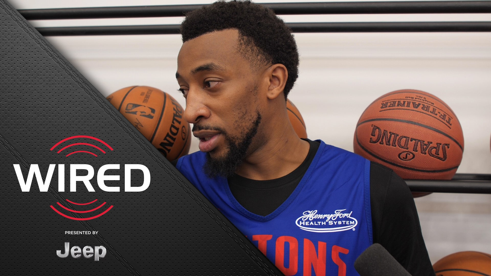 Wired, presented by Jeep: Jordan McRae Speaks After Practice