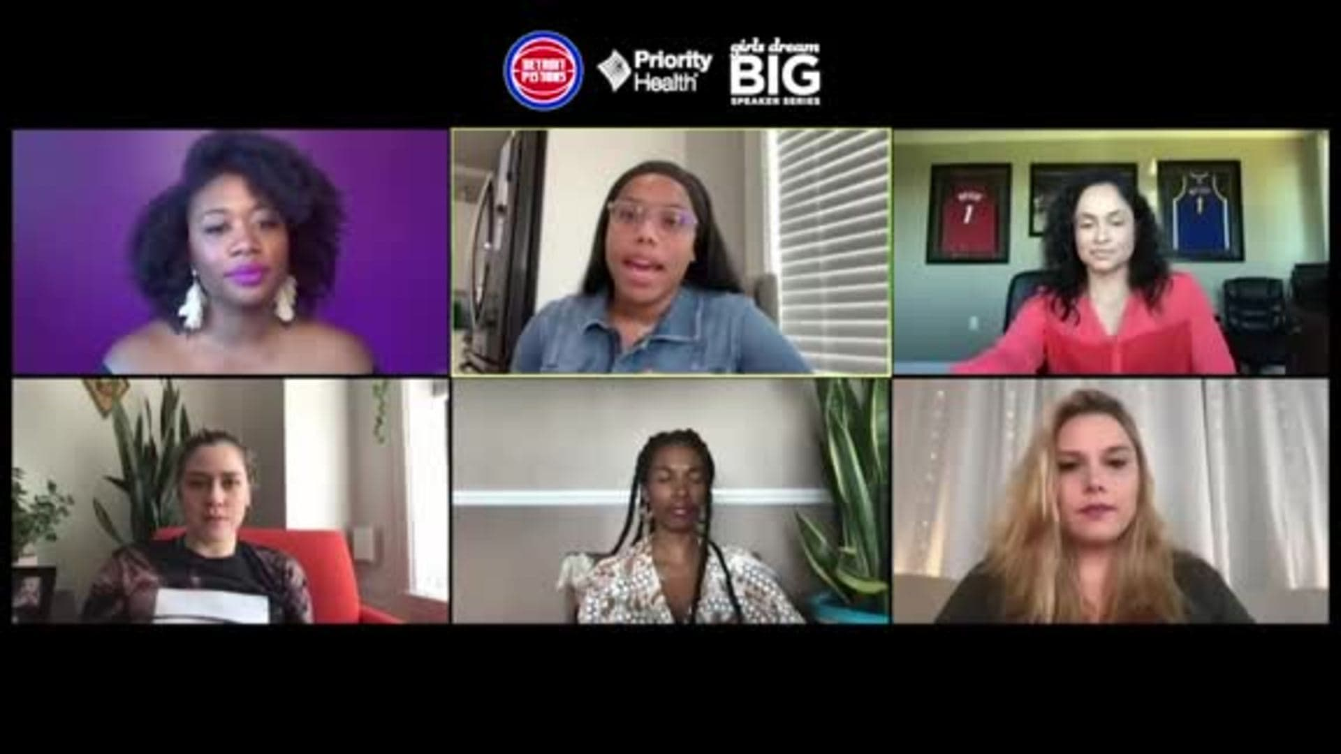 Girls Dream Big Panel - June 4, 2020