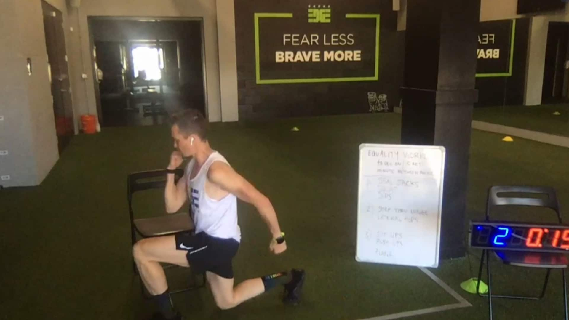 Pride Week: Virtual Workout with Chris Mosier
