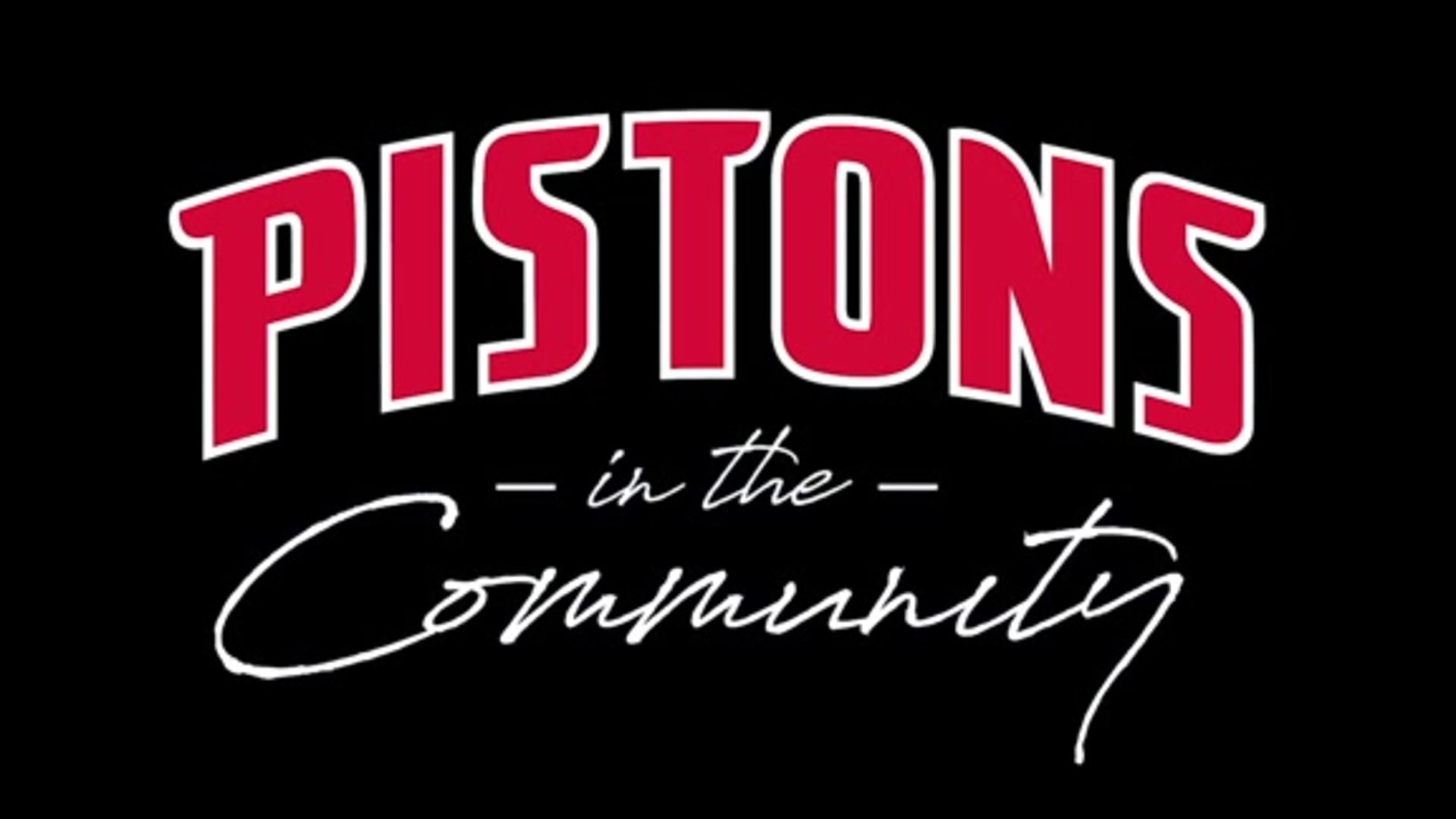 Pistons in the Community: Urban Alliance