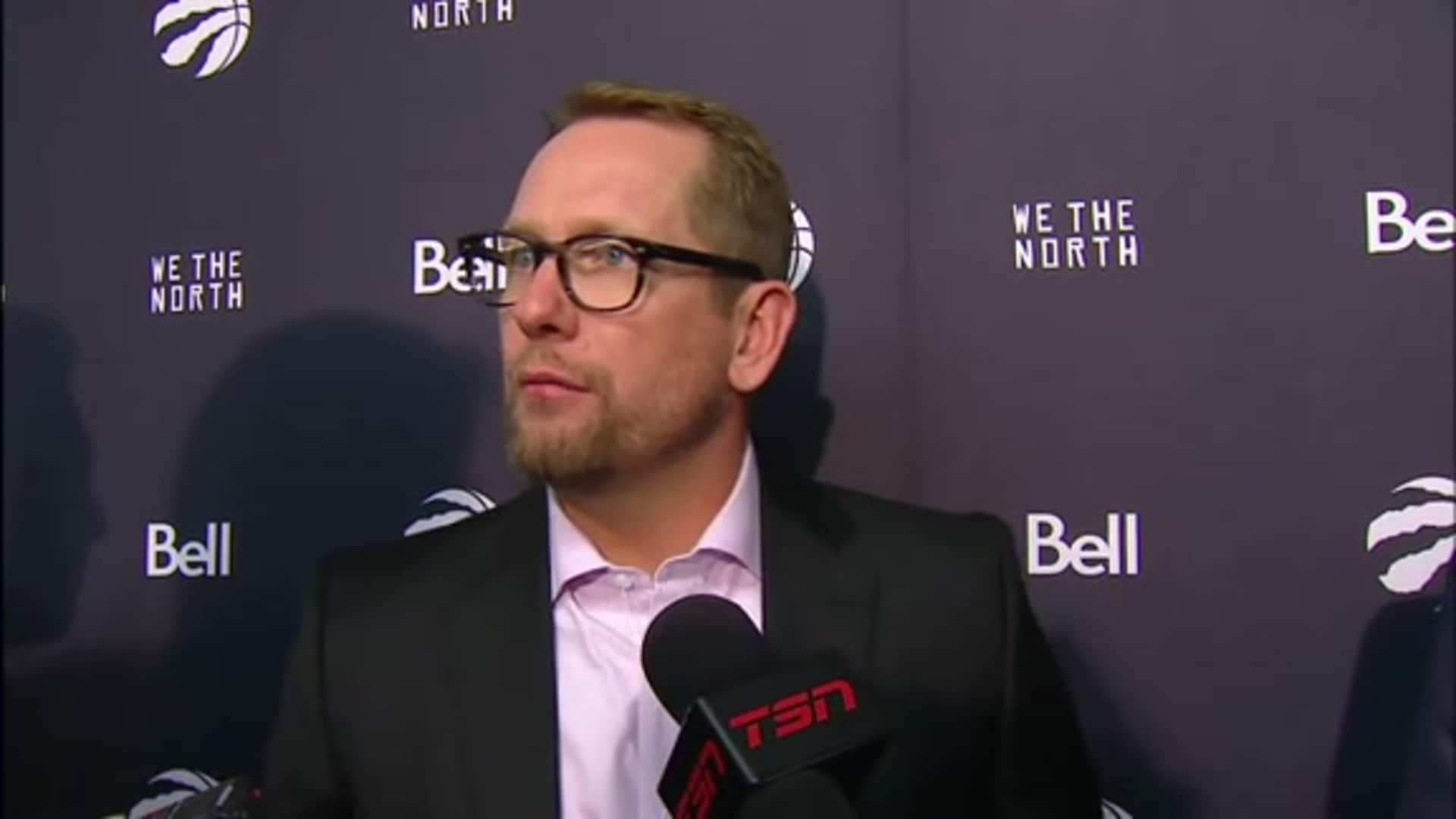 Raptors Post Game: Nick Nurse - October 26, 2019