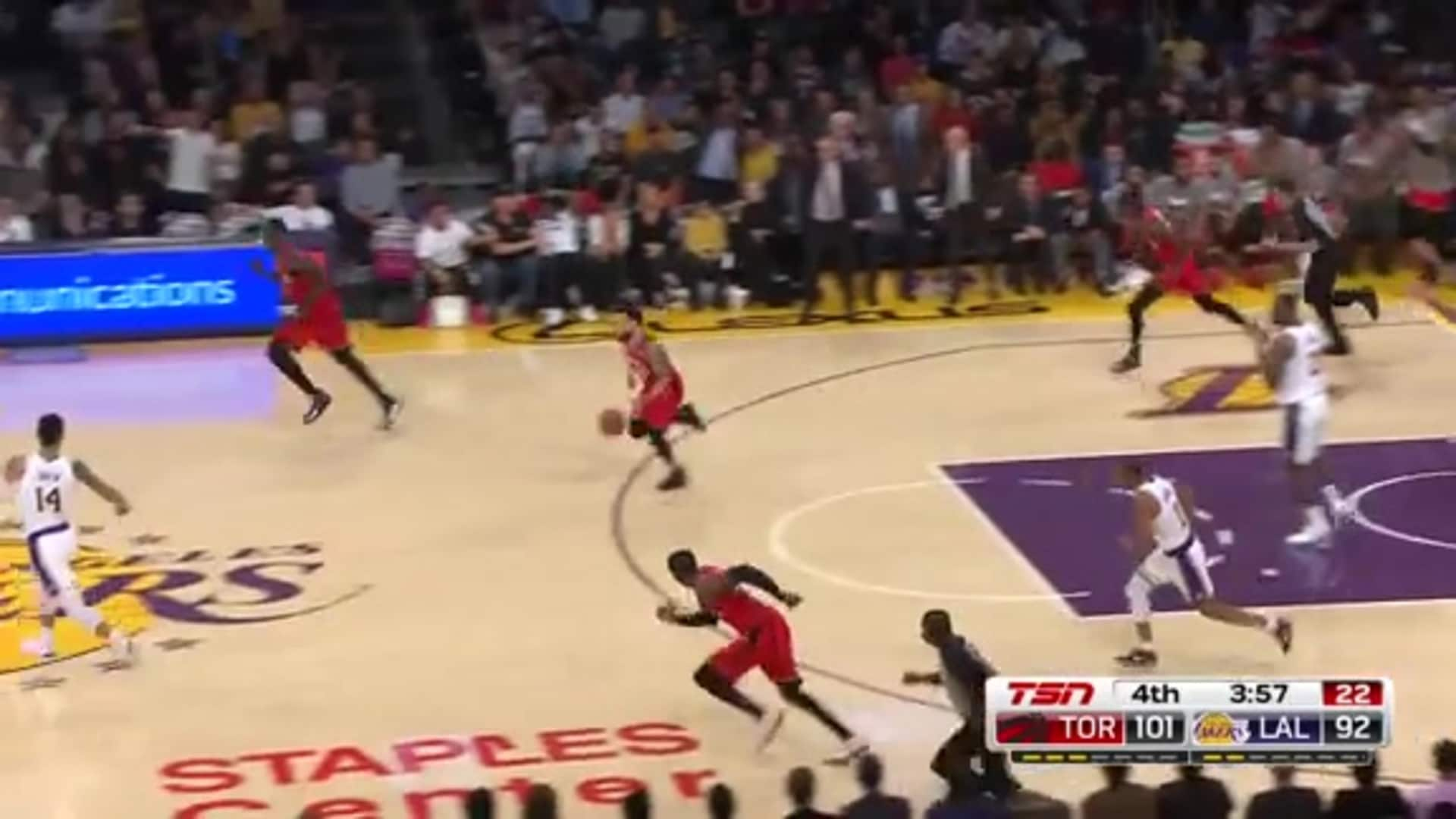 Game Highlights: Raptors at Lakers - November 10, 2019