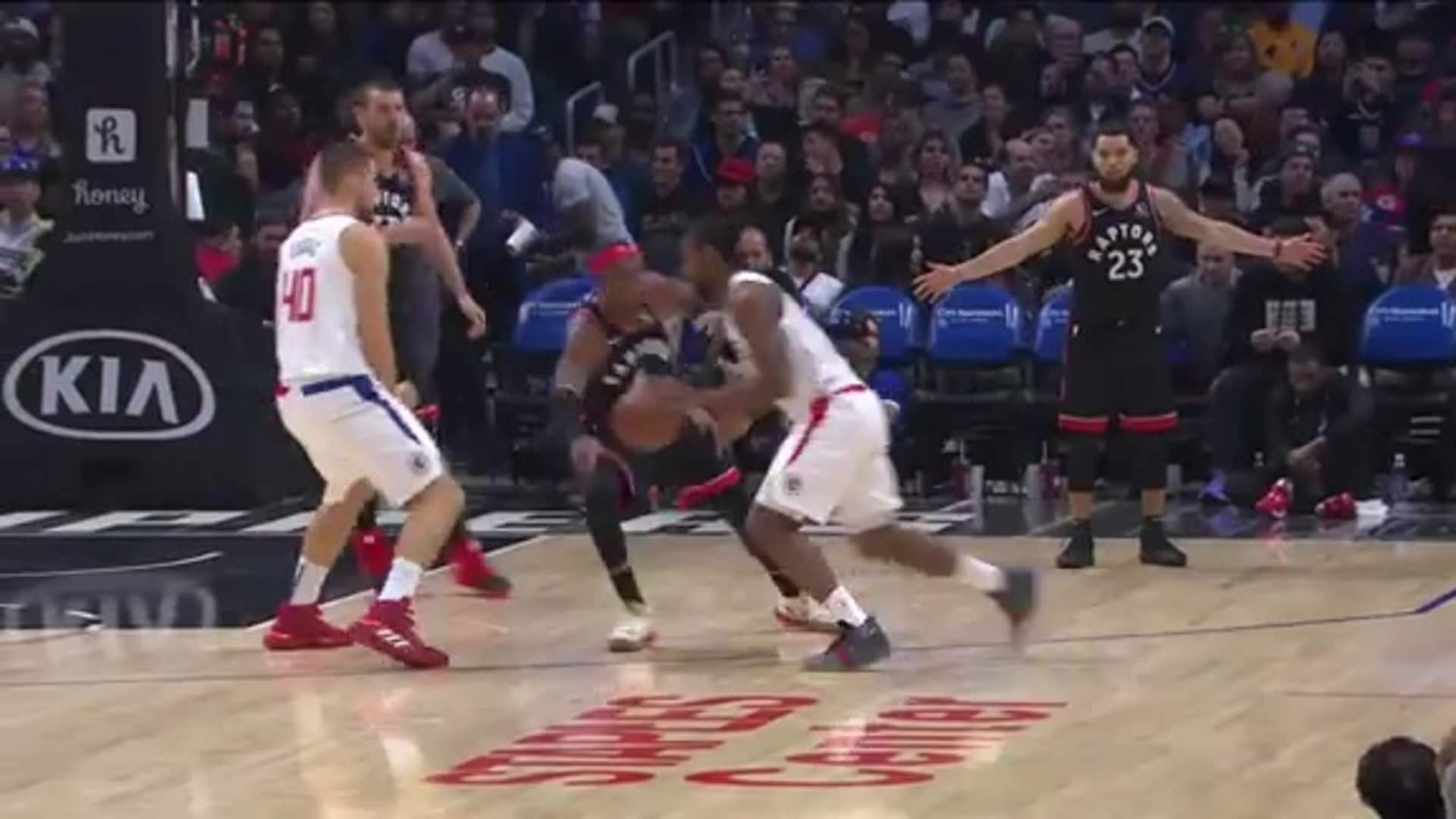 Raptors Highlights: Hollis-Jefferson Steal and Layup - November 11, 2019