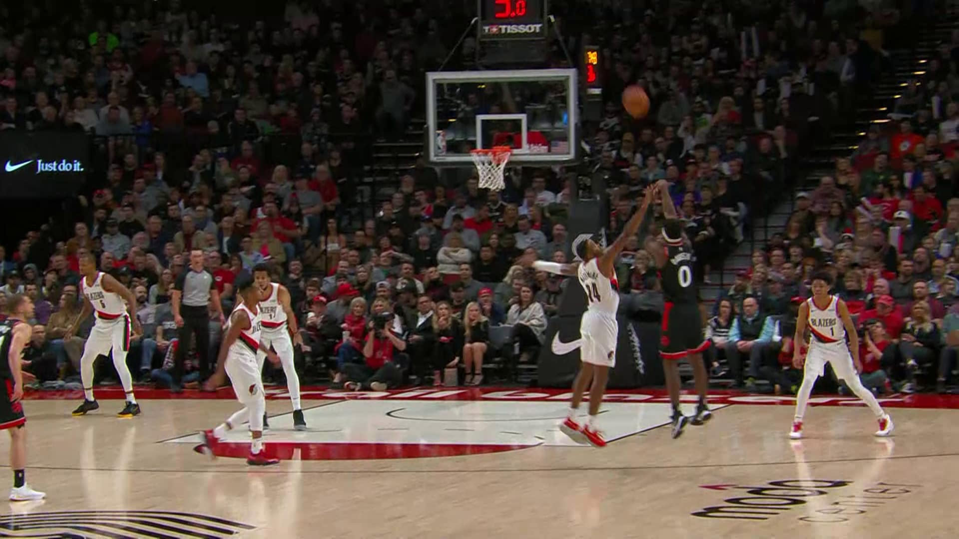 Raptors Highlights: Davis Three - November 13, 2019