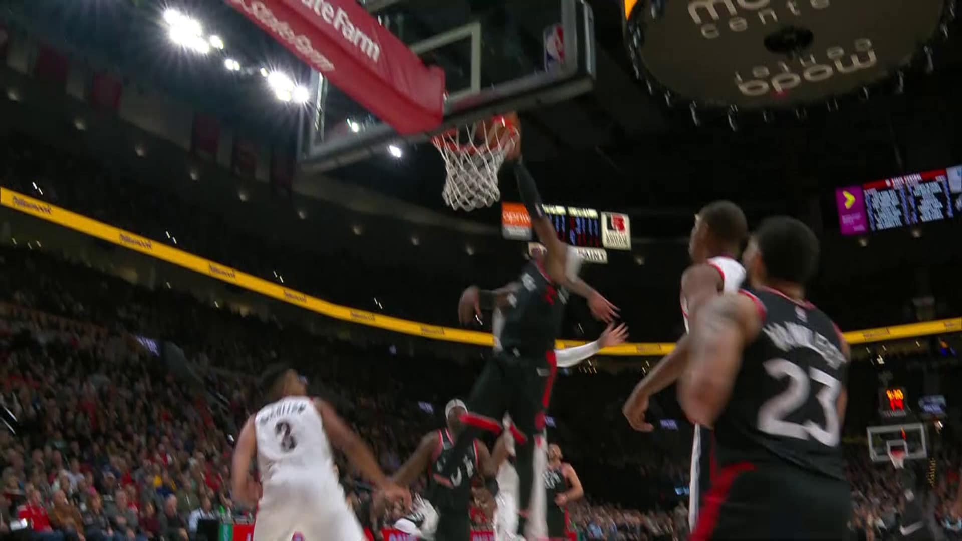 Raptors Highlights: Hollis-Jefferson And-1 - November 13, 2019