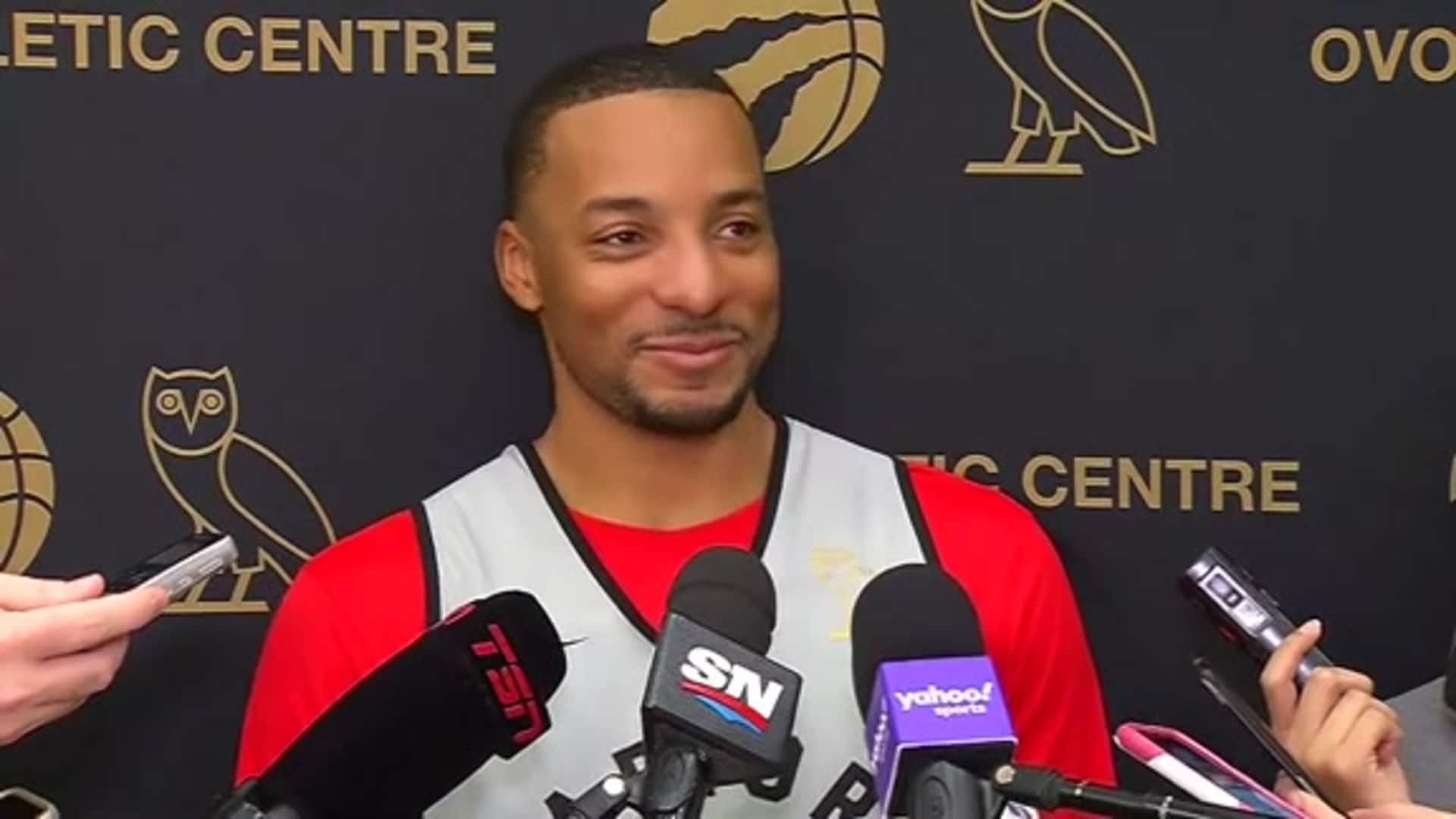 Raptors Practice: Norman Powell - December 4, 2019