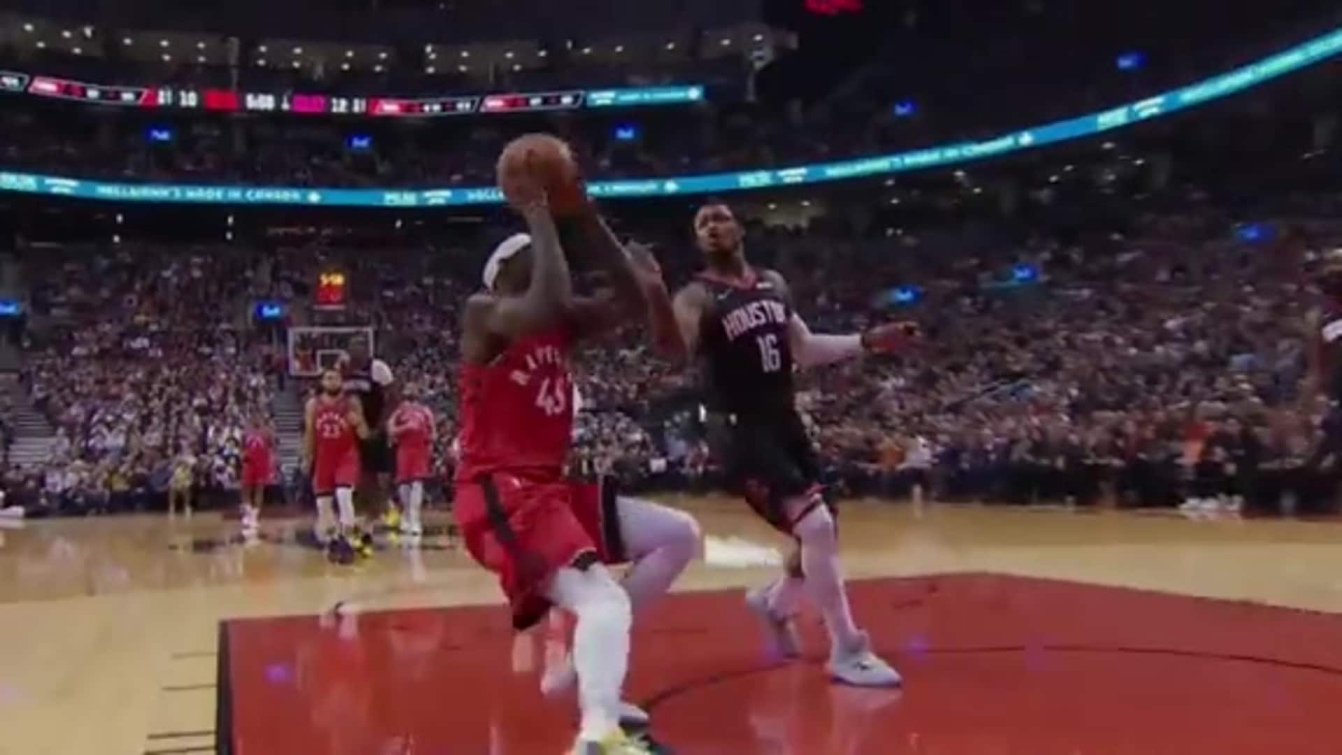 Raptors Highlights: Siakam Layup - December 5, 2019