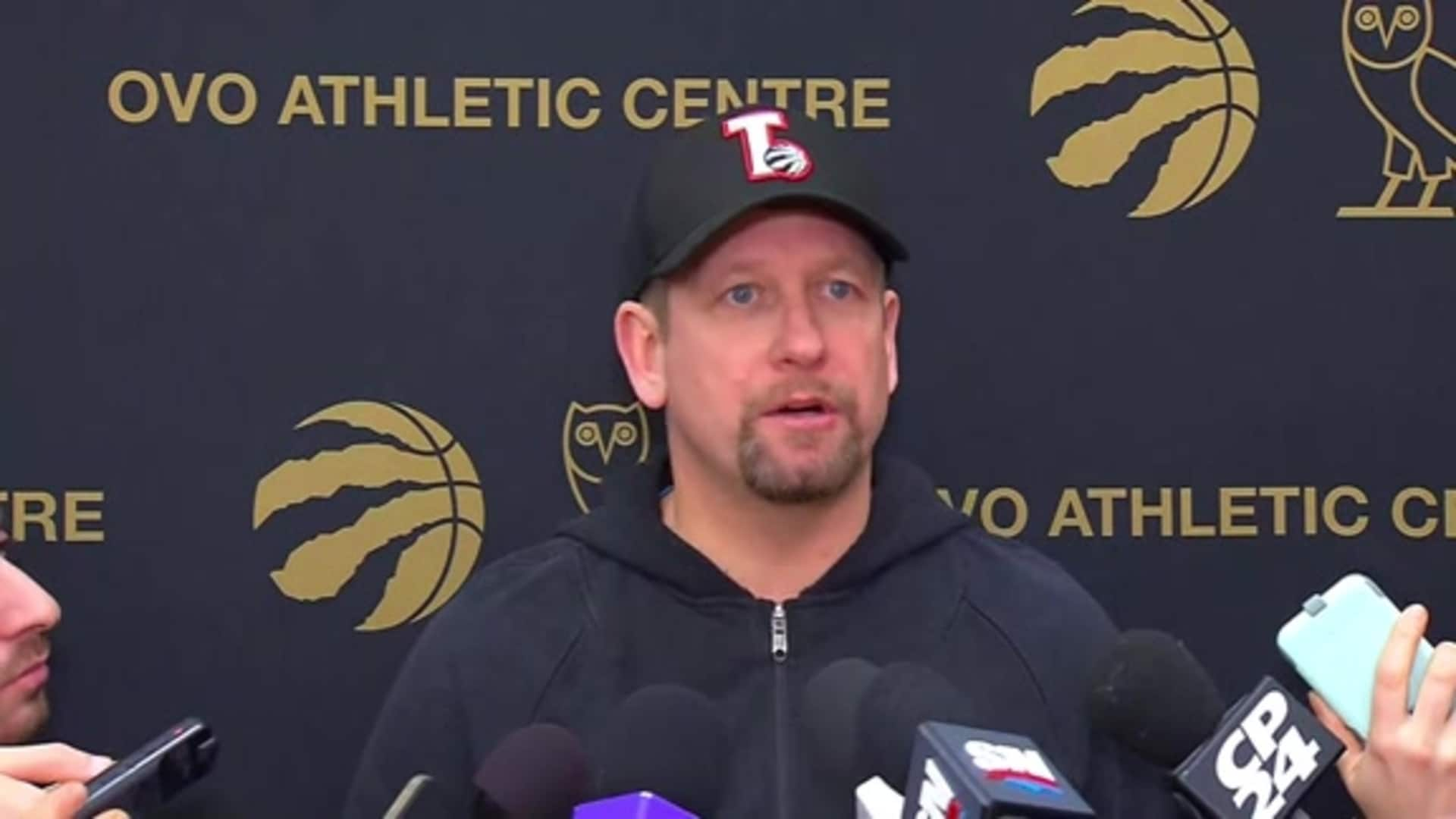 Raptors Practice: Nick Nurse - December 13, 2019