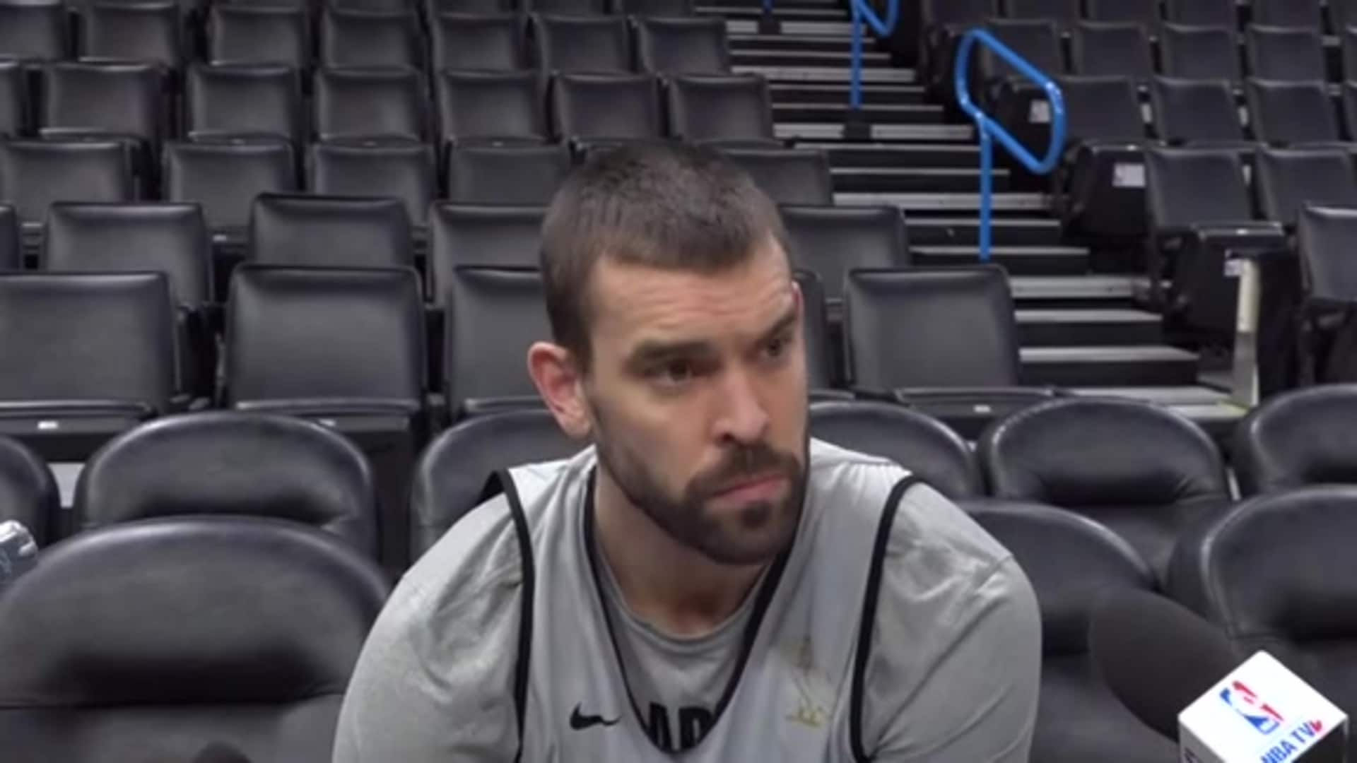 Raptors Practice: Marc Gasol - January 15, 2020