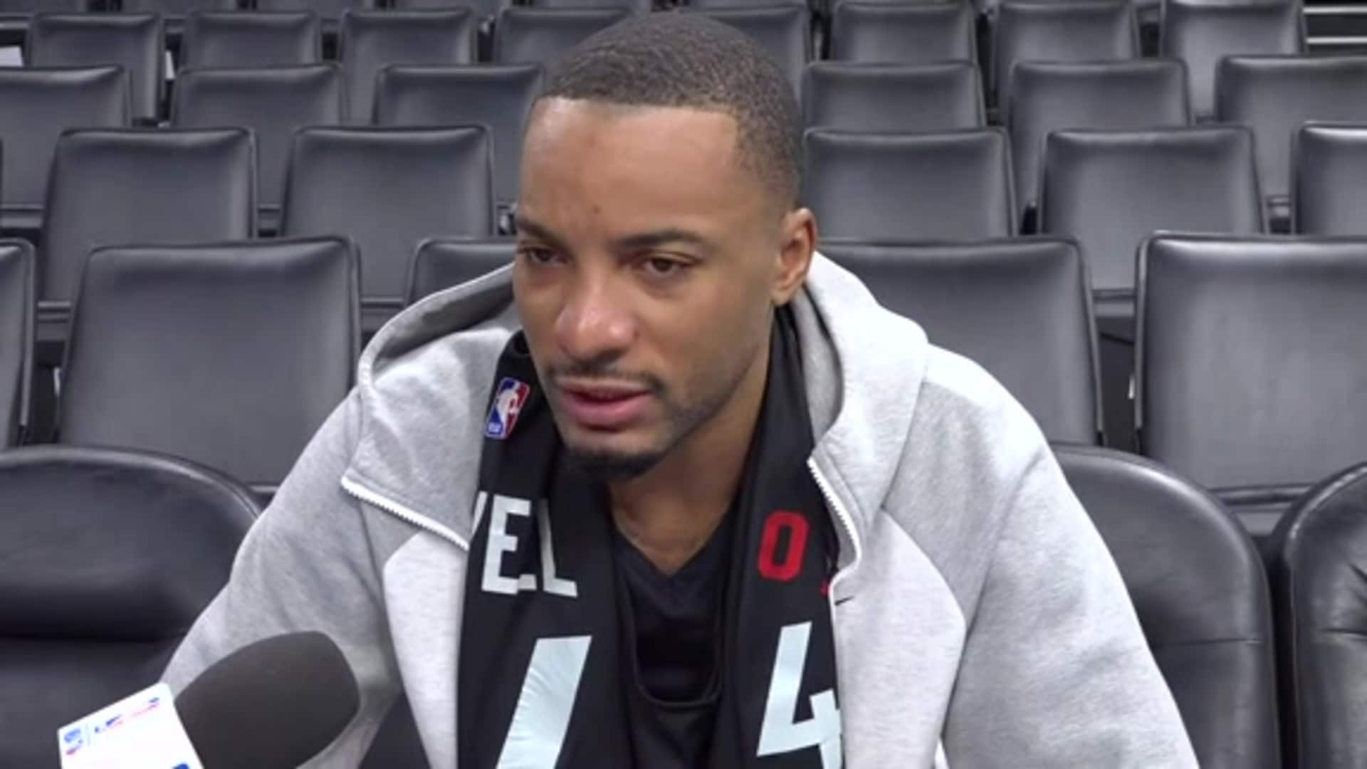Raptors Practice: Norman Powell - January 15, 2020