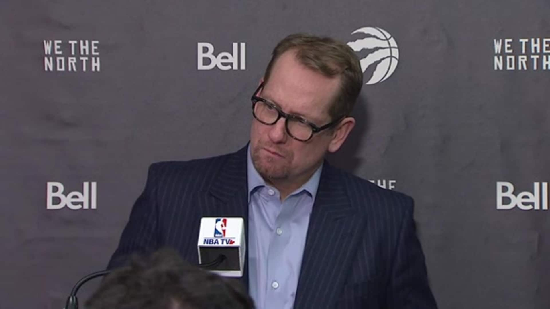 Raptors Post Game: Nick Nurse - January 17, 2020