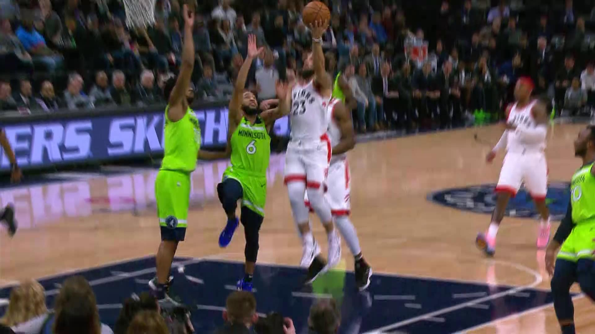 Raptors Highlights: VanVleet Layup - January 18, 2020