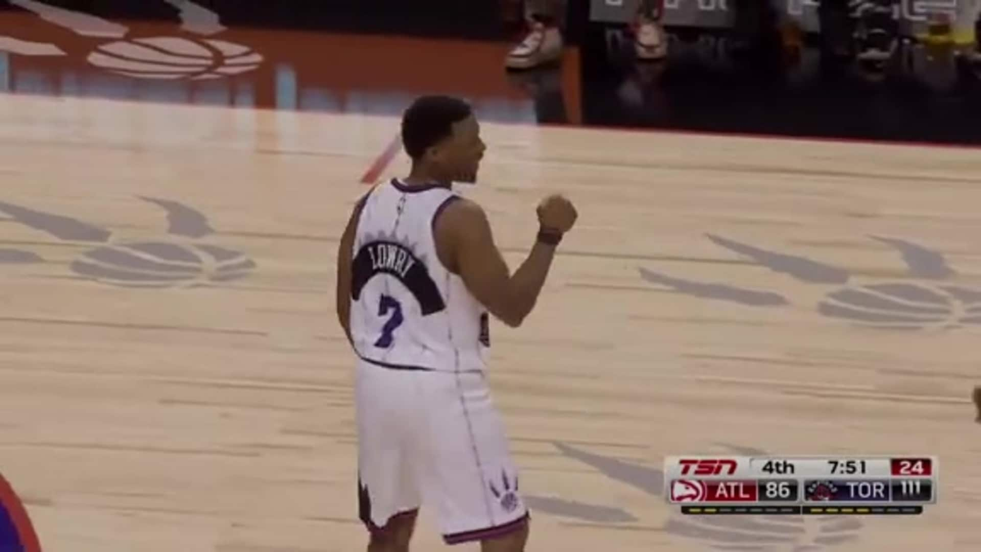 Raptors Highlights: Lowry Franchise Assist Record - January 28, 2020
