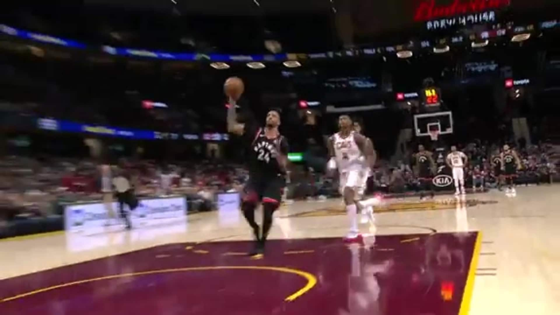 Raptors Highlights: Powell Steal and Dunk - January 30, 2020
