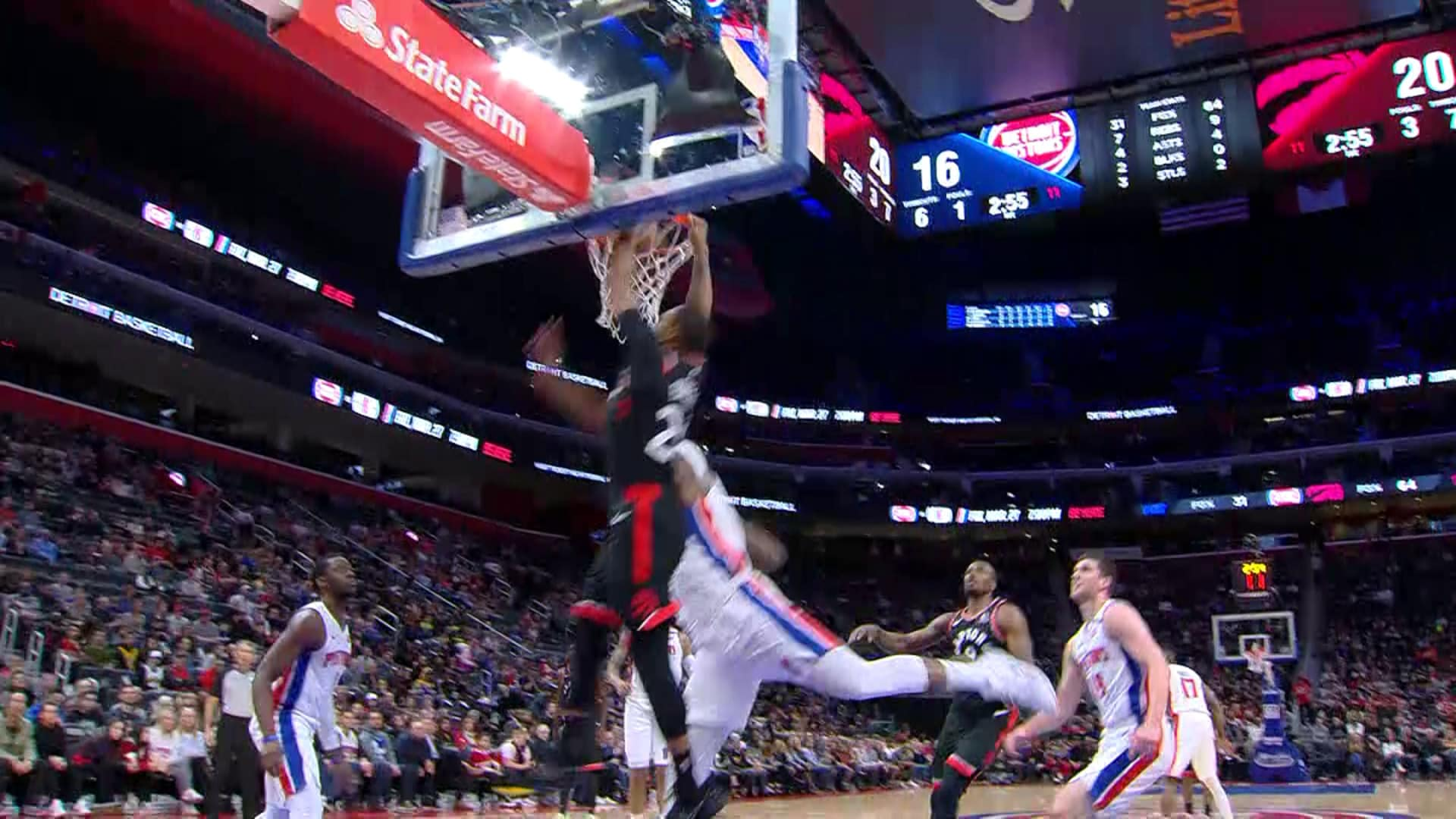 Raptors Highlights: Powell Dunk - January 31, 2020