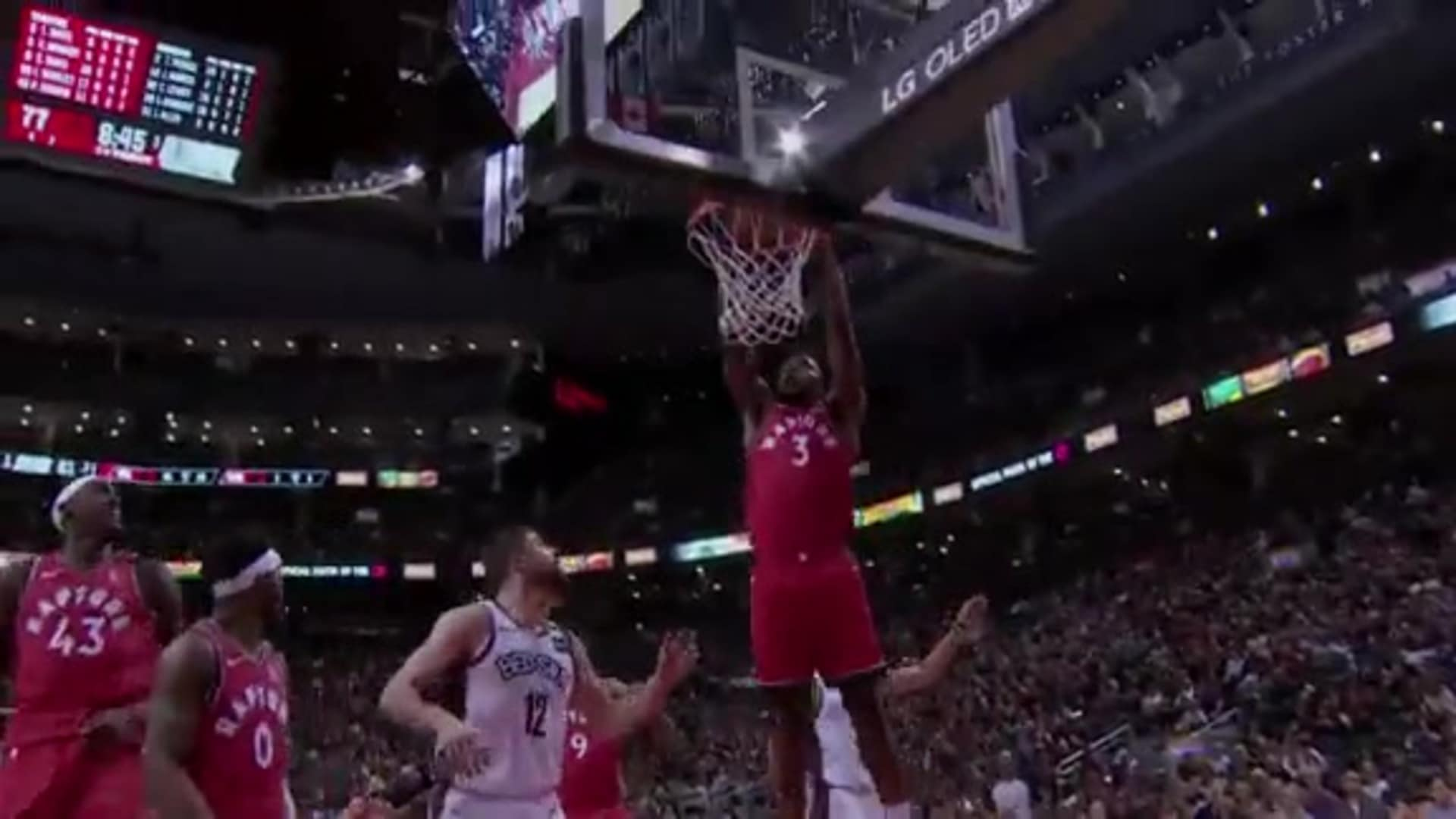 Raptors Highlights: Anunoby Dunk - February 8, 2020