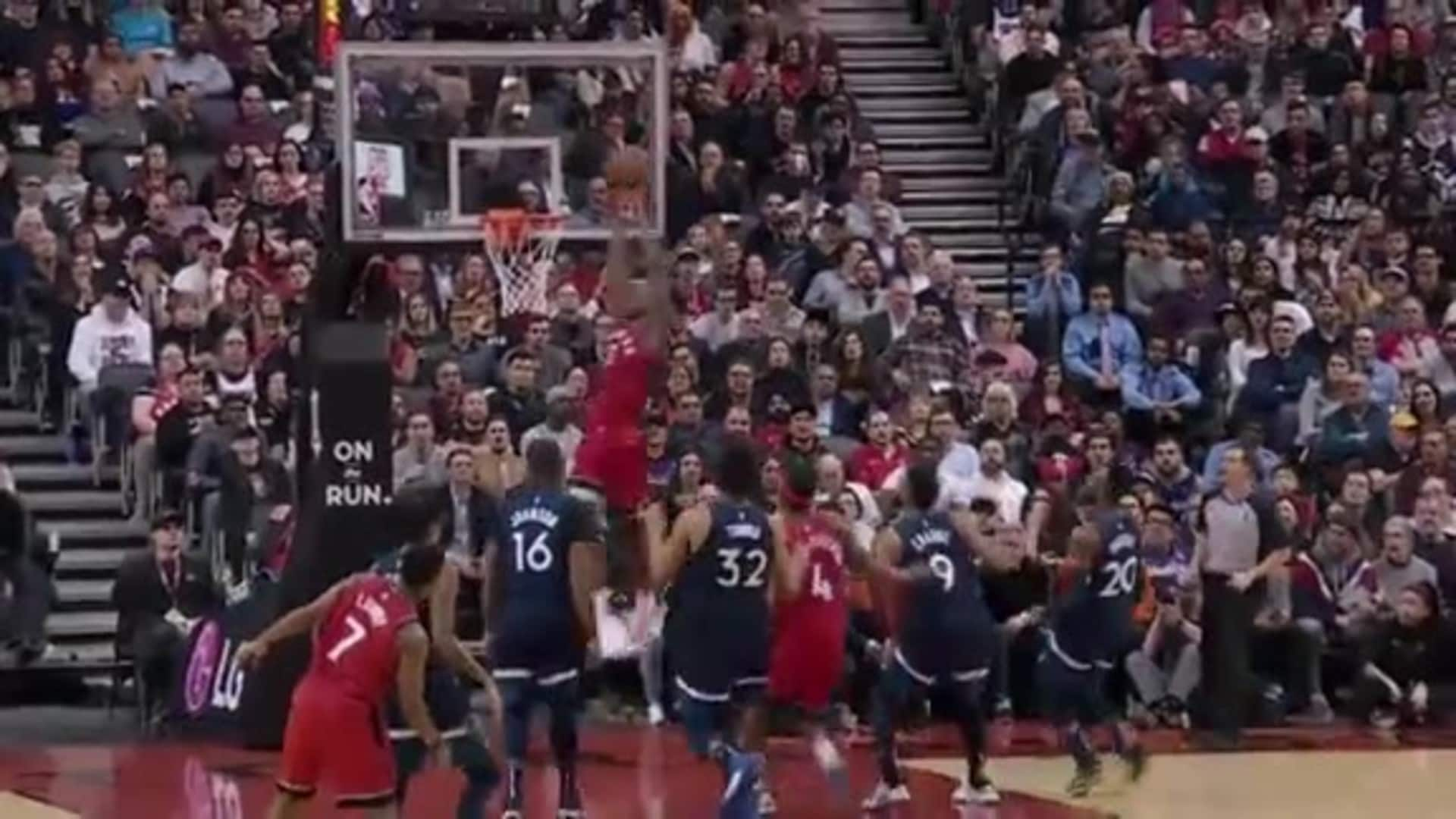 Raptors Highlights: Anunoby Alley-Oop - February 10, 2020