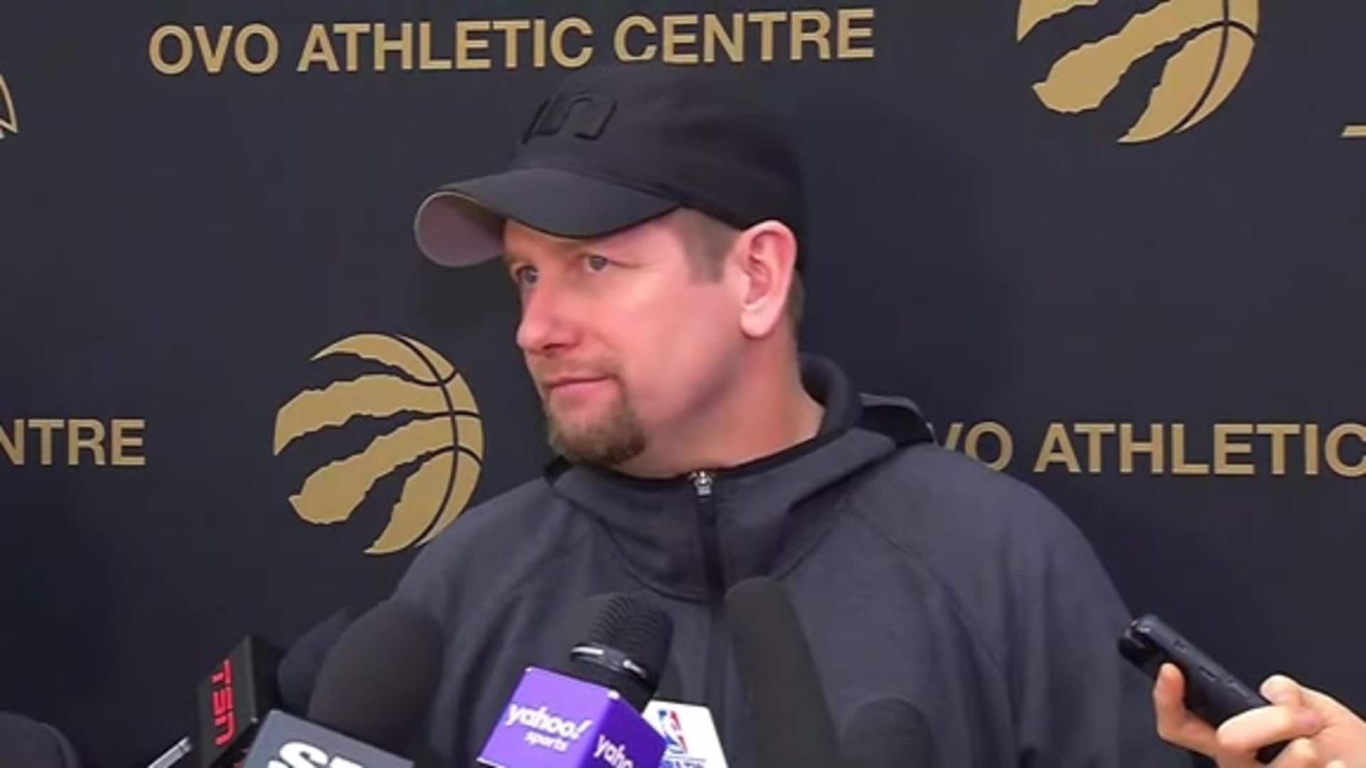 Raptors Practice: Nick Nurse - February 20, 2020
