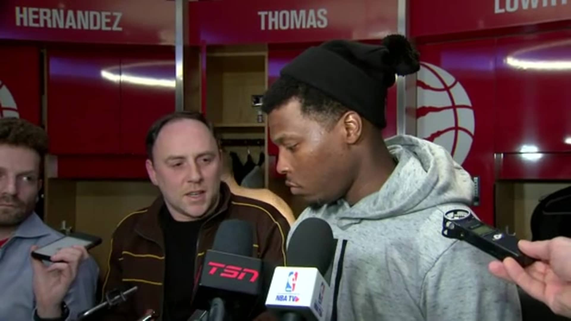 Raptors Post Game: Kyle Lowry - February 21, 2020