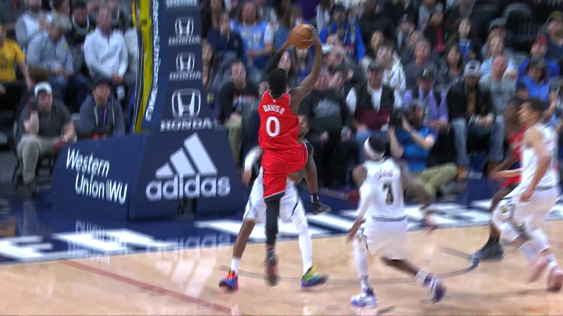 Raptors Highlights: Davis Dunk - March 1, 2020