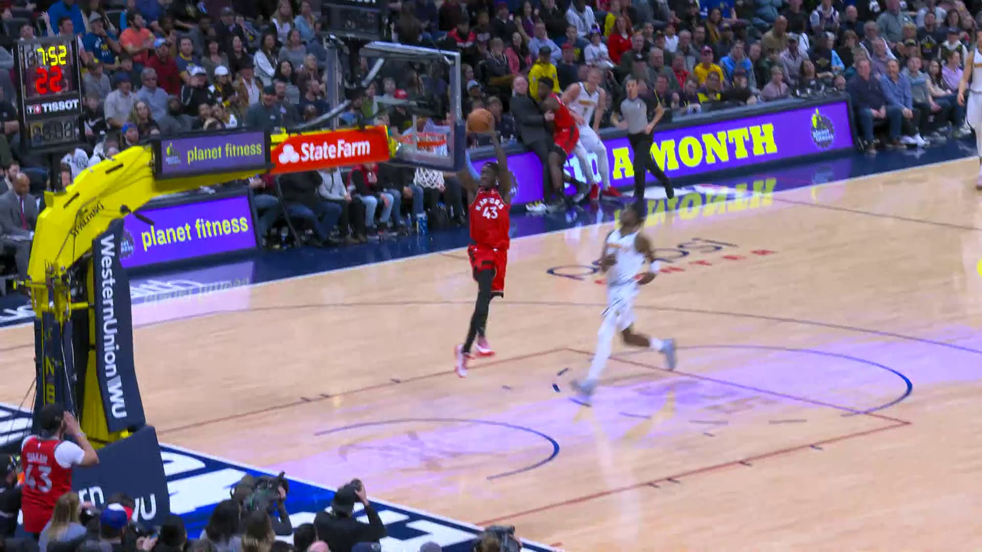 Raptors Highlights: Siakam Dunk - March 1, 2020