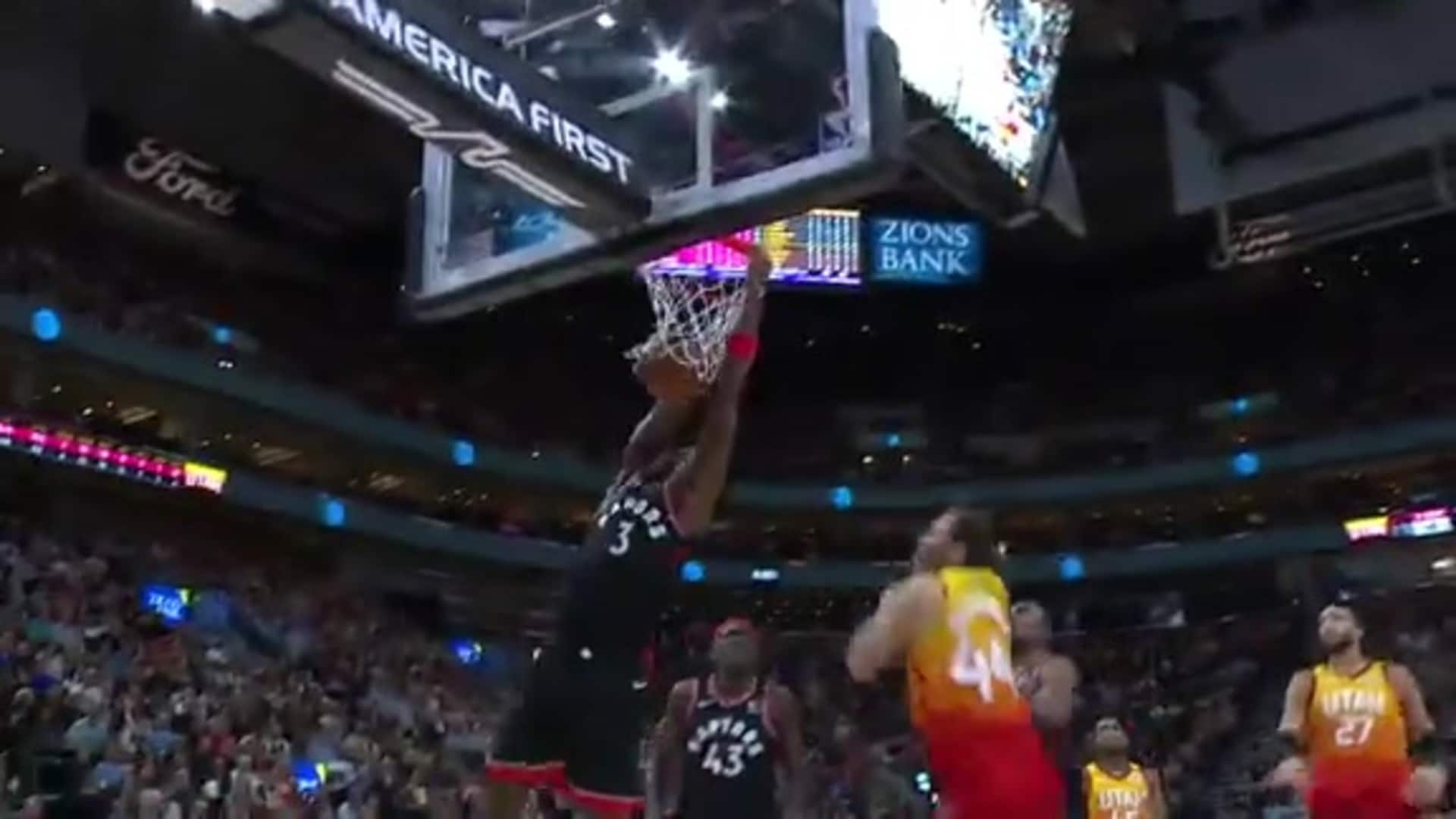 Raptors Highlights: Anunoby Dunk - March 9, 2020