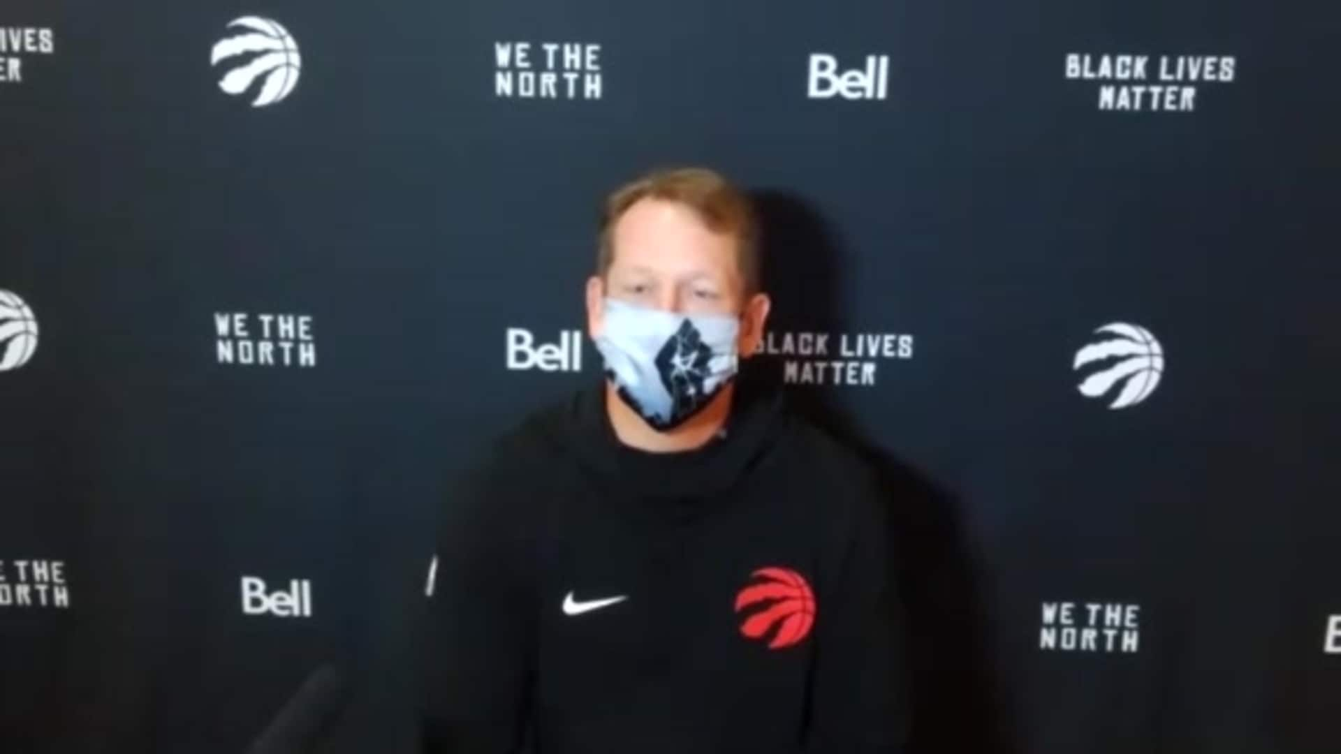 Raptors Practice: Nick Nurse - July 30, 2020