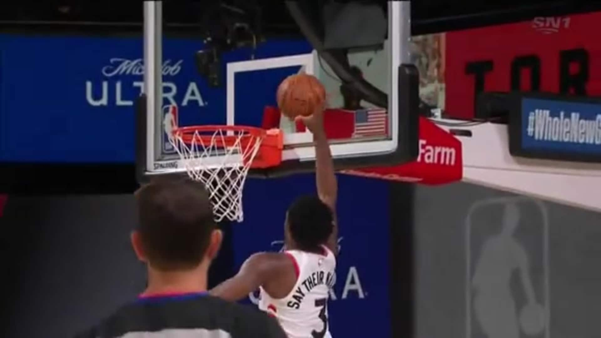Raptors Highlights: Anunoby Dunk - August 1, 2020