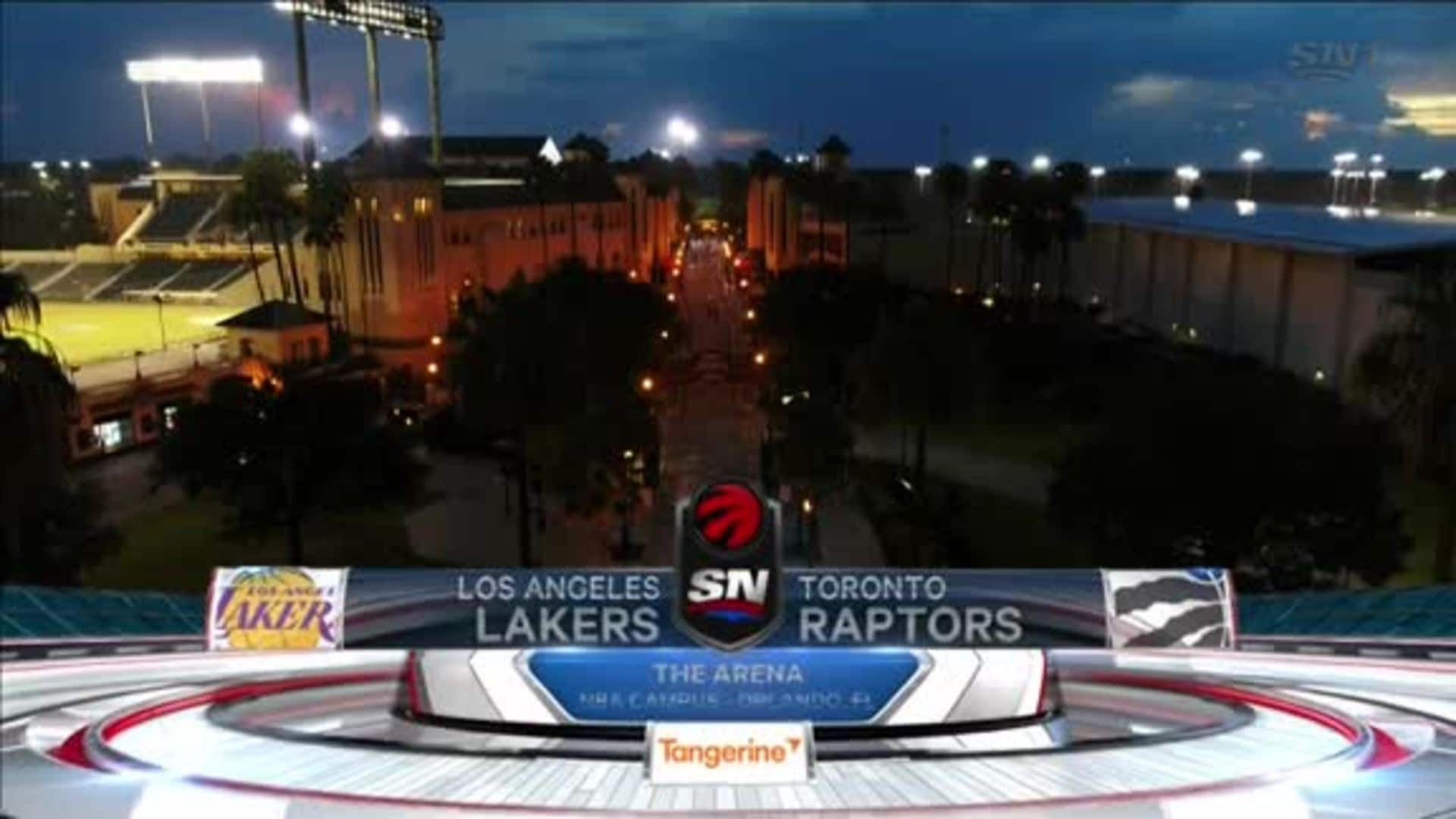 Game Highlights: Raptors vs. Lakers - August 1, 2020