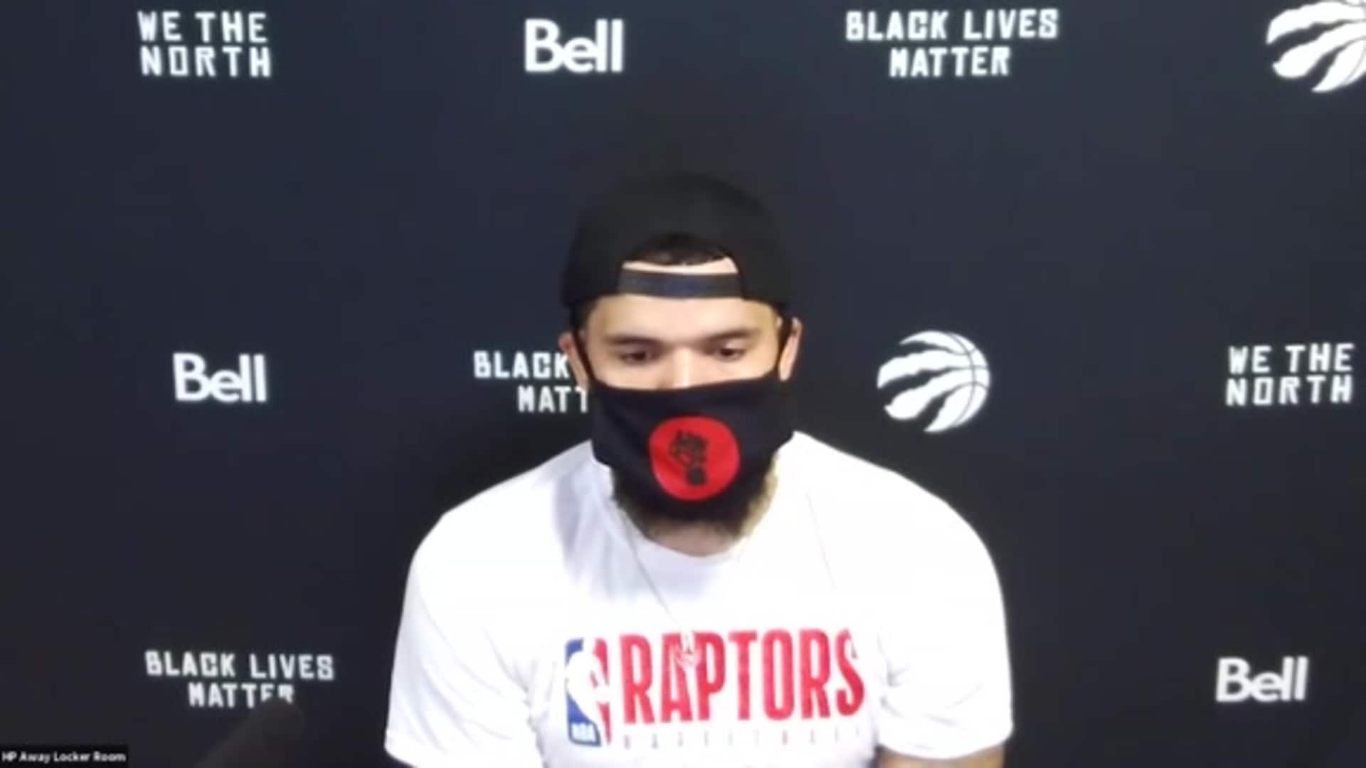 Post Game: Fred VanVleet - August 3, 2020